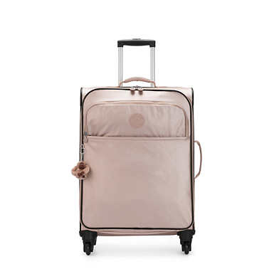 Parker Medium Metallic Rolling Luggage - Quartz Metallic