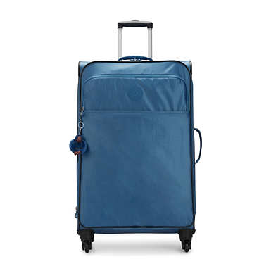 Parker Large Metallic Rolling Luggage