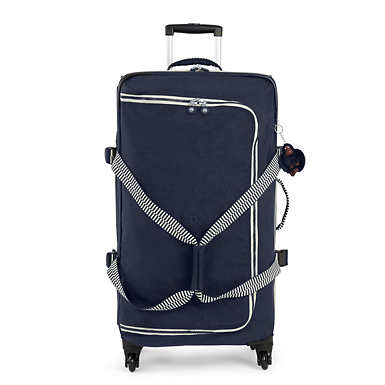 Cyrah Large Rolling Luggage - True Navy Mix