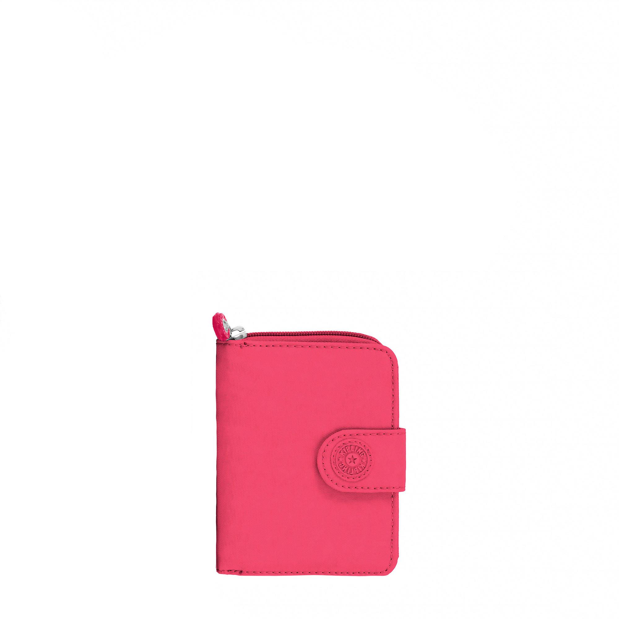 6b10e8e490 New Money Small Credit Card Wallet,Grapefruit Tonal Zipper,large