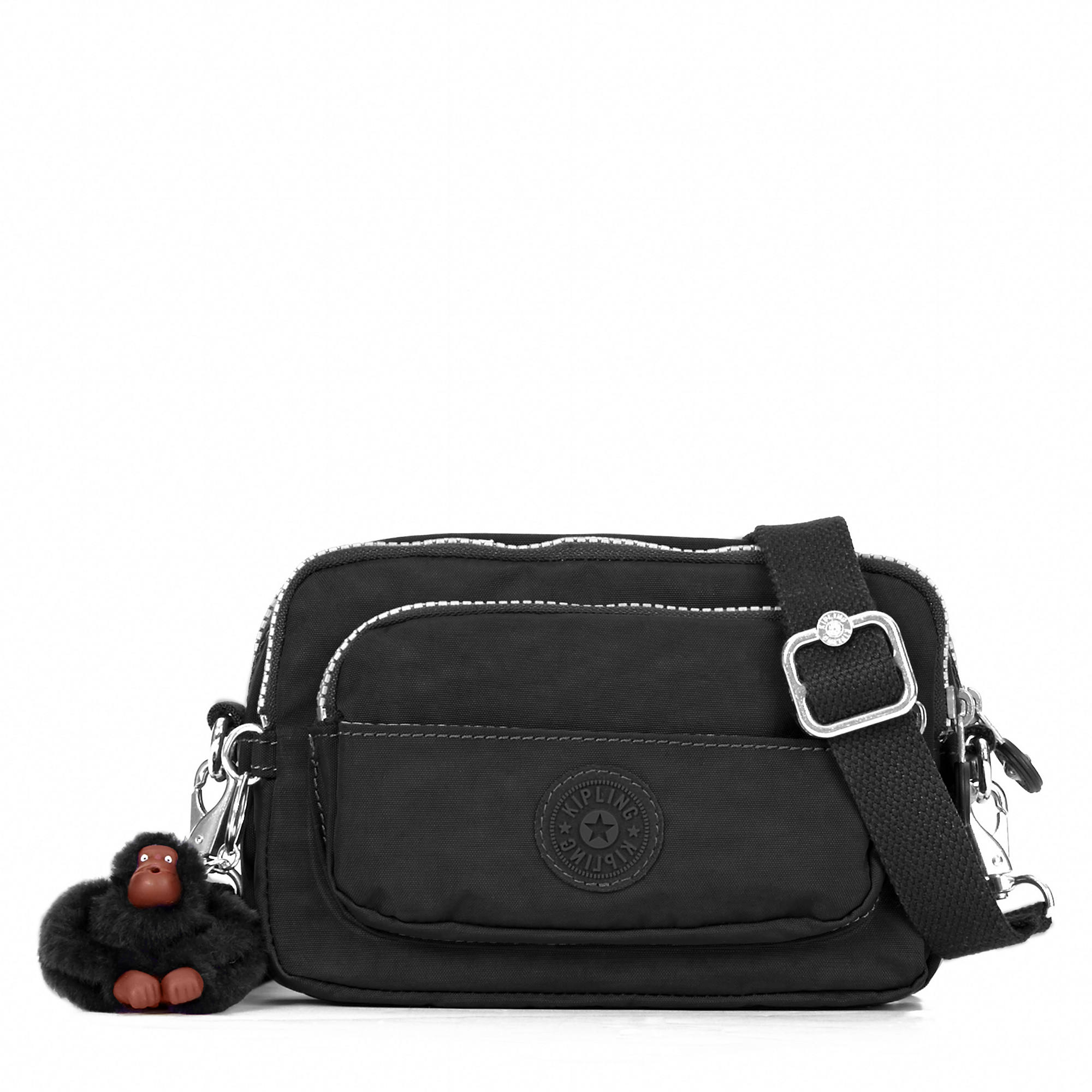 Merryl 2 In 1 Convertible Crossbody Bag Black Large