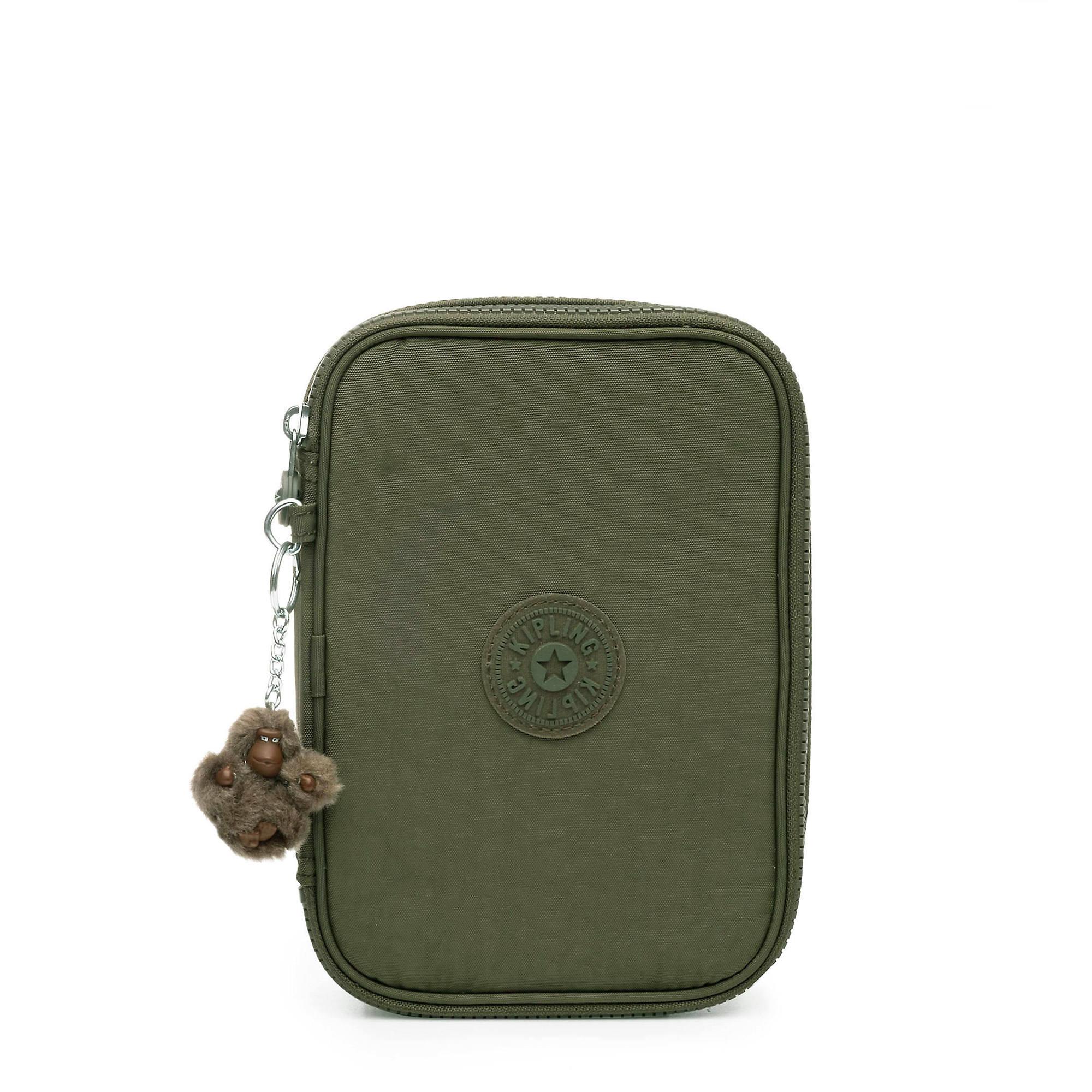 82c817803 100 Pens Case,Jaded Green Tonal Zipper,large