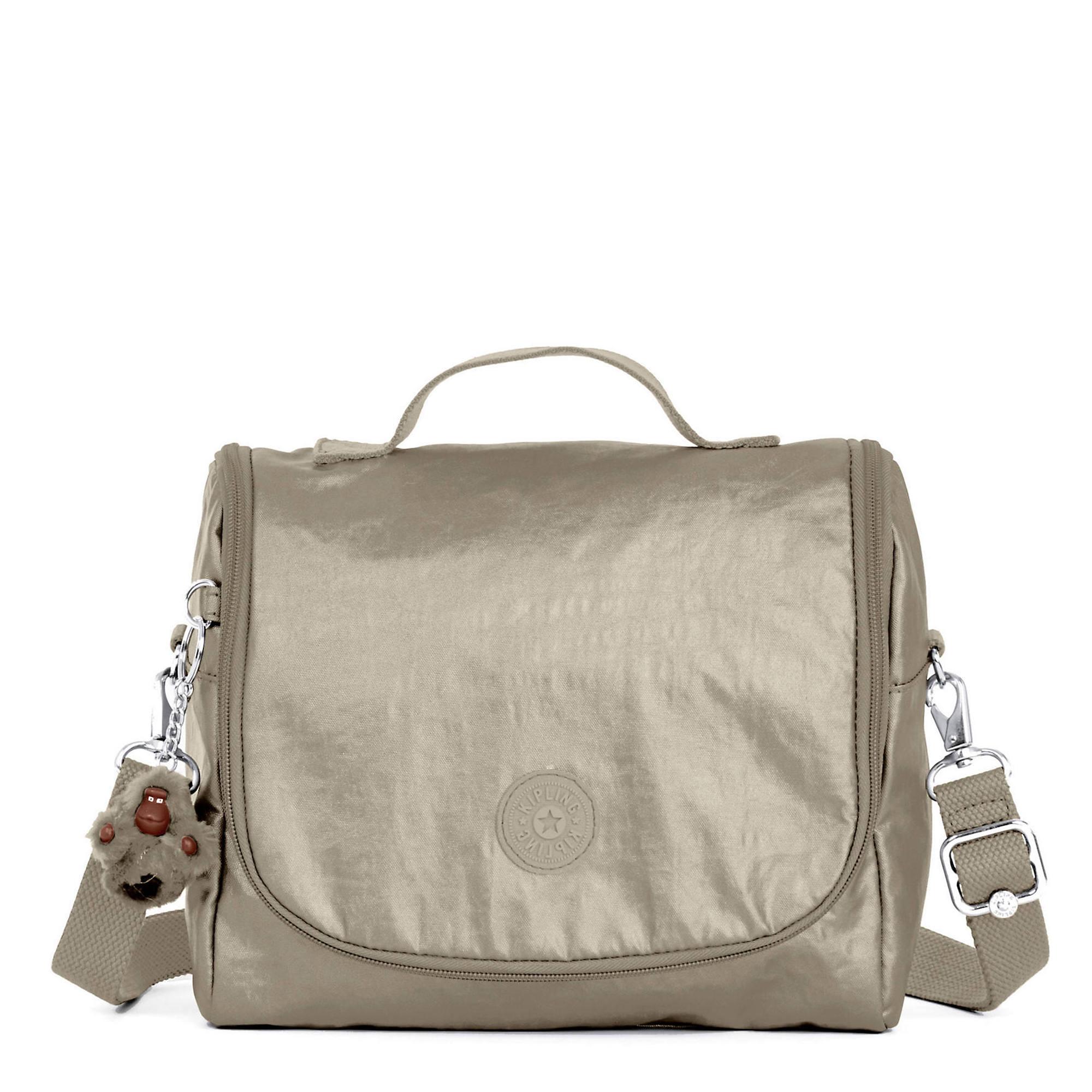 Kichirou Metallic Lunch Bag Pewter Large