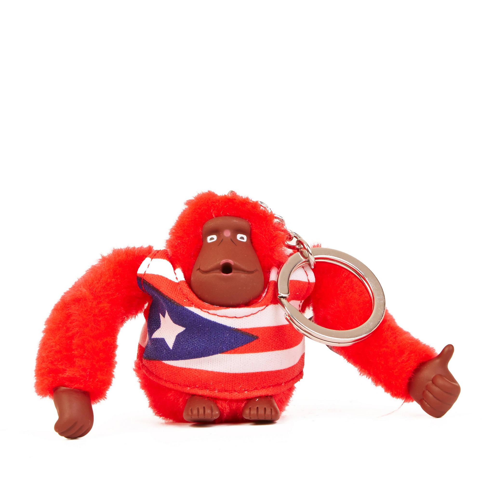 b572a8c20 Puerto Rico Monkey Keychain,Multi,large