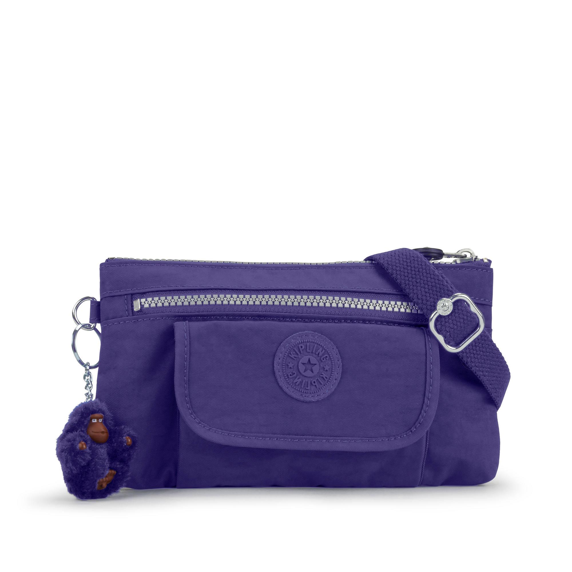 Alwyn Crossbody Bag Berry Blue Large