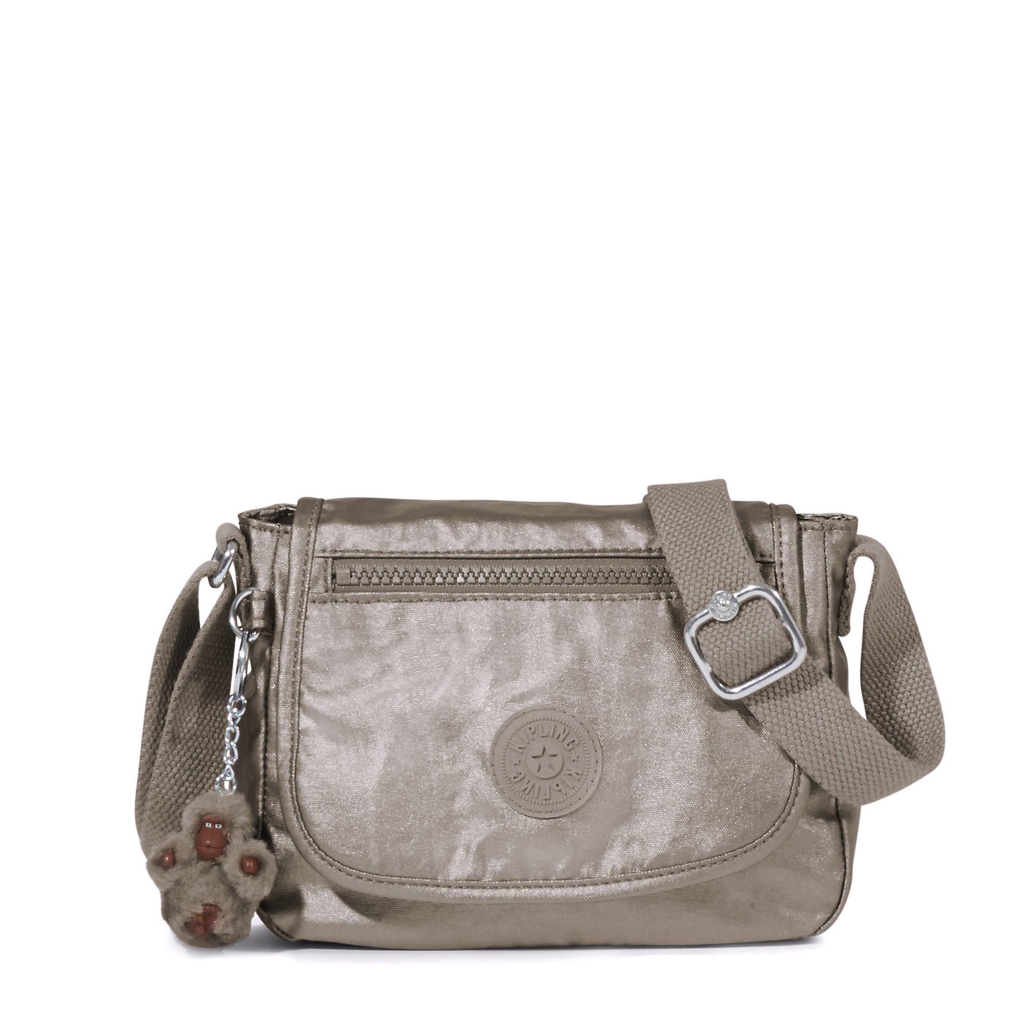 Sabian Crossbody Metallic Mini Bag Pewter Large