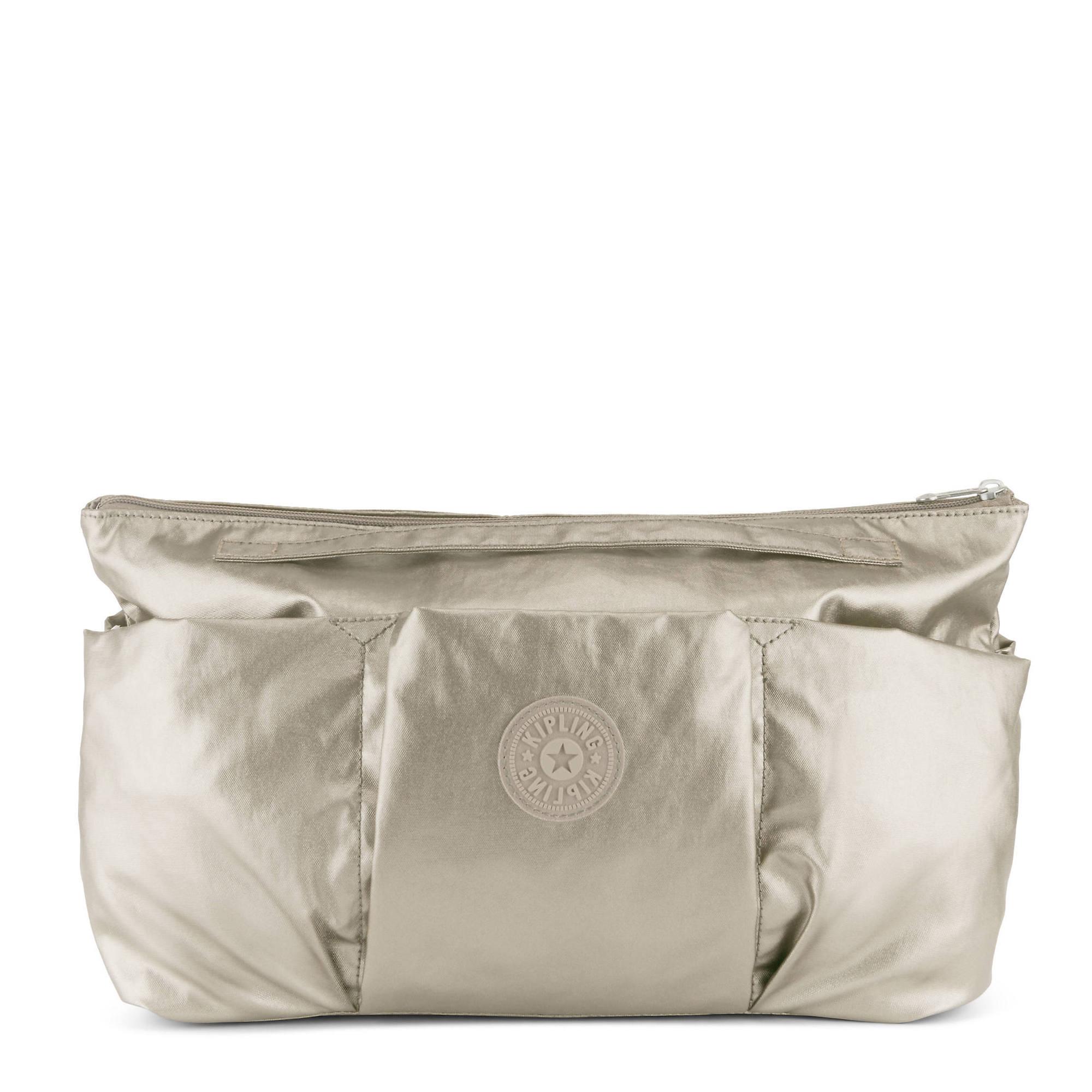 Beckett Metallic Handbag Organizer Kipling