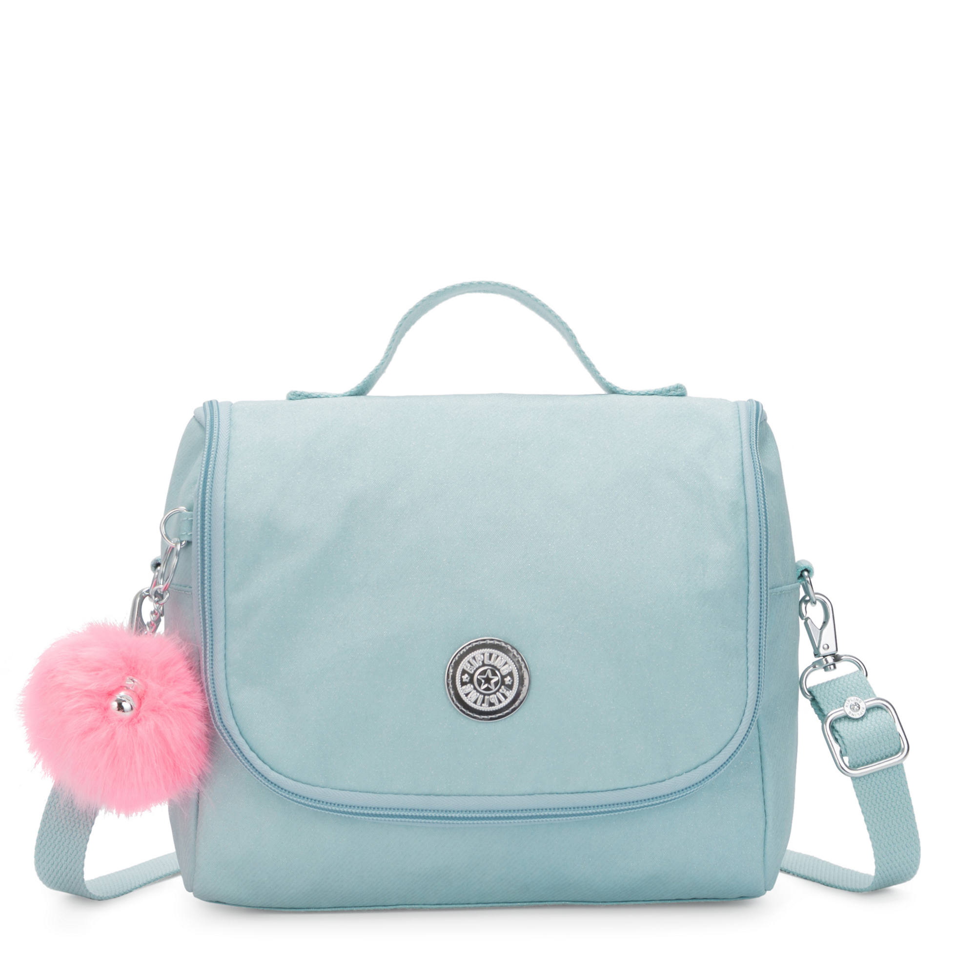 Kichirou Lunch Bag,Glimmer Teal,large-zoomed