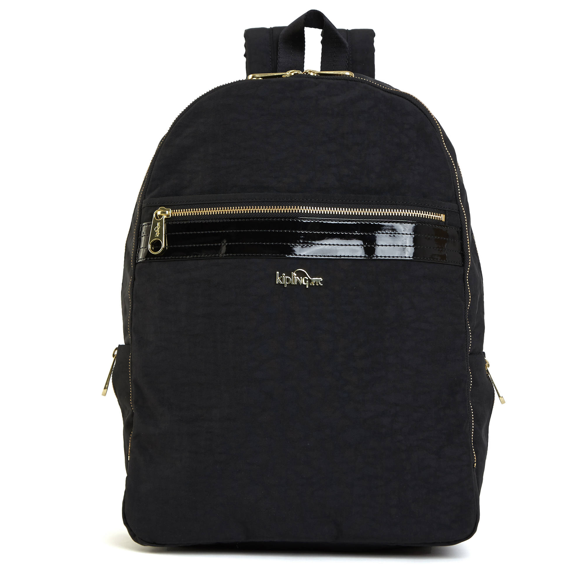 a0ca0471d99 Deeda Large Laptop Backpack,Black Patent Combo,large