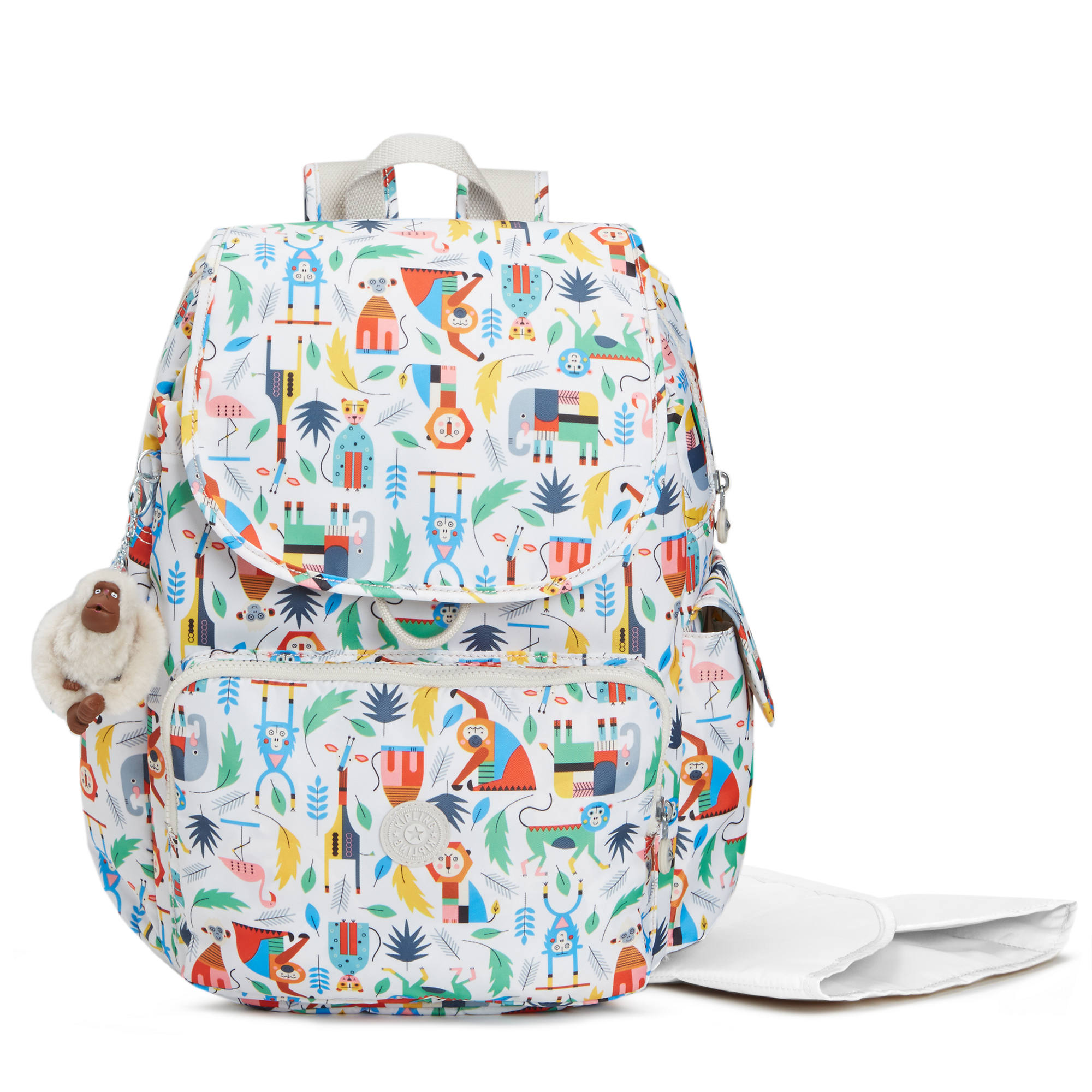 Baby Printed Backpack Diaper Bag Bundle Of Love Large