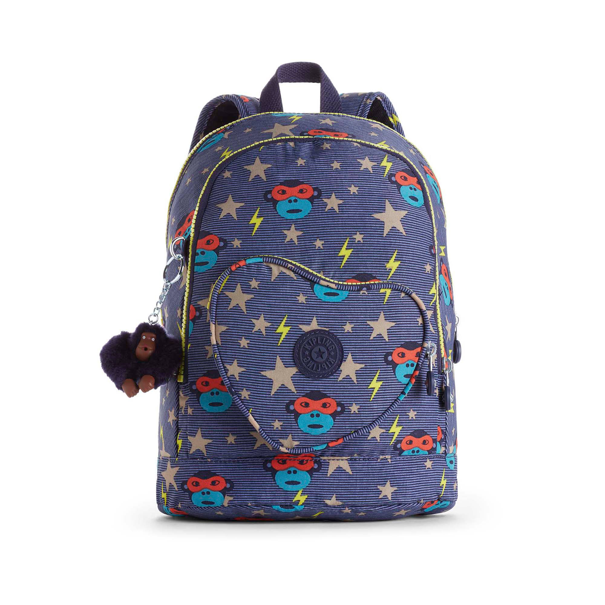 27b2d3475a Heart Printed Kids Backpack