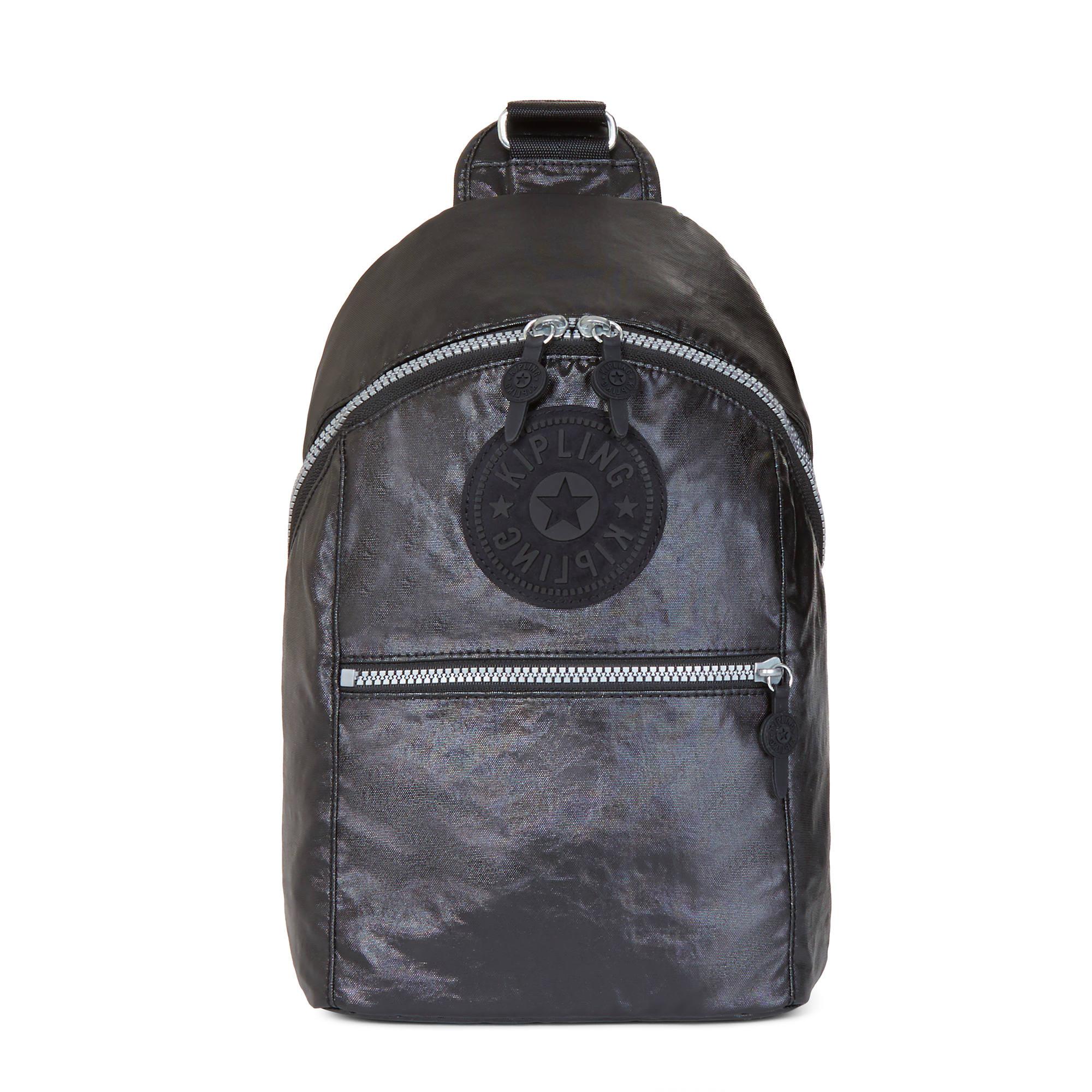 e4c019e0ac Bente Metallic Backpack,Lacquer Black,large