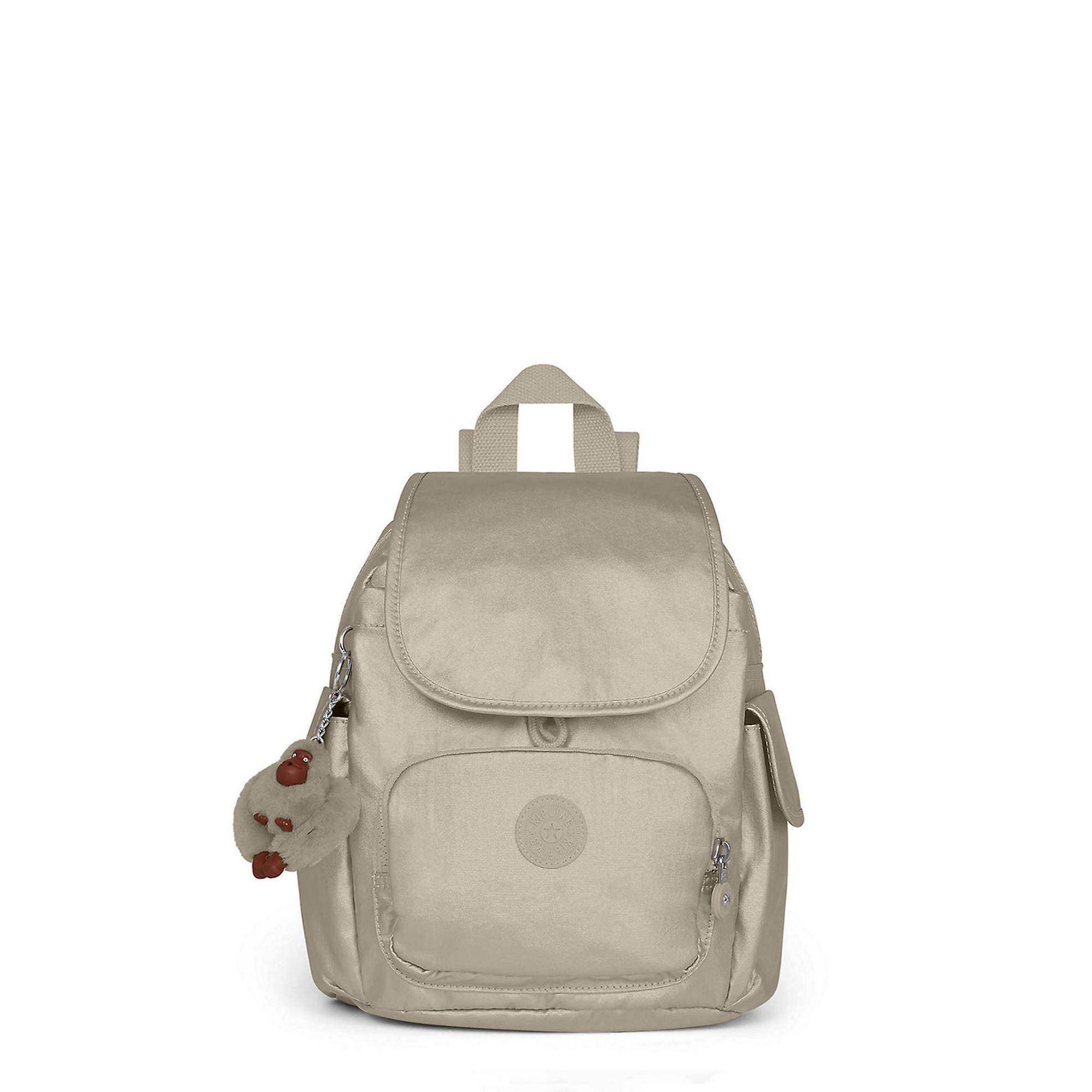 d13090f163fb City Pack Extra Small Metallic Backpack,Metallic Pewter,large
