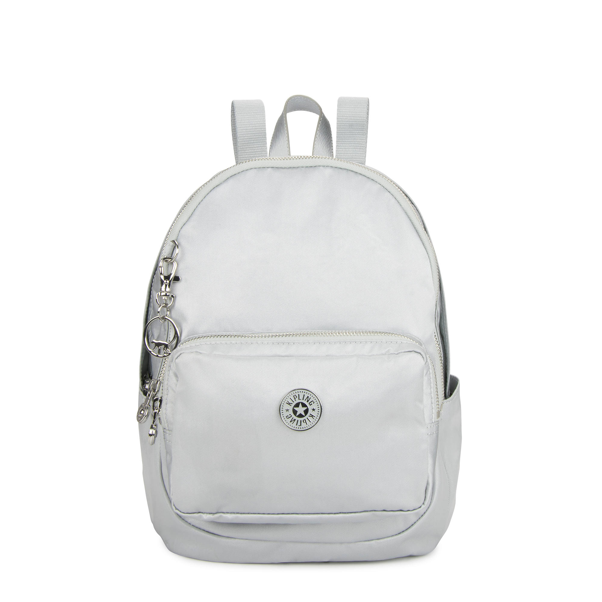 66477c4207c Tabbie Small Backpack,Silver,large