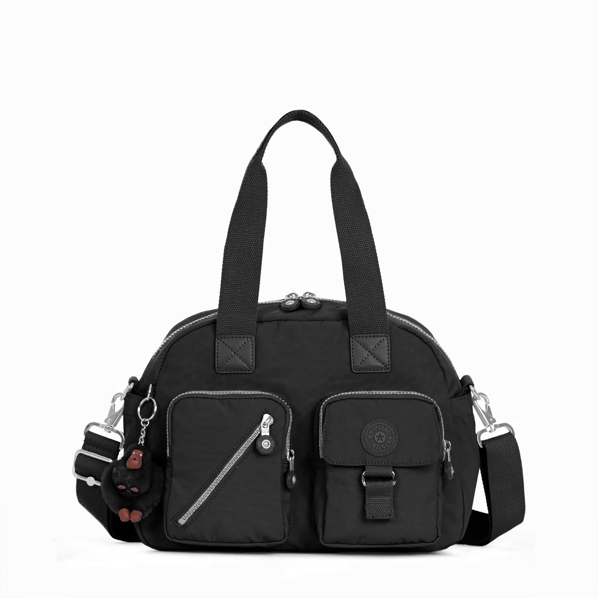 Kipling Hb3170 Defea Medium Crossbody Handbag Black