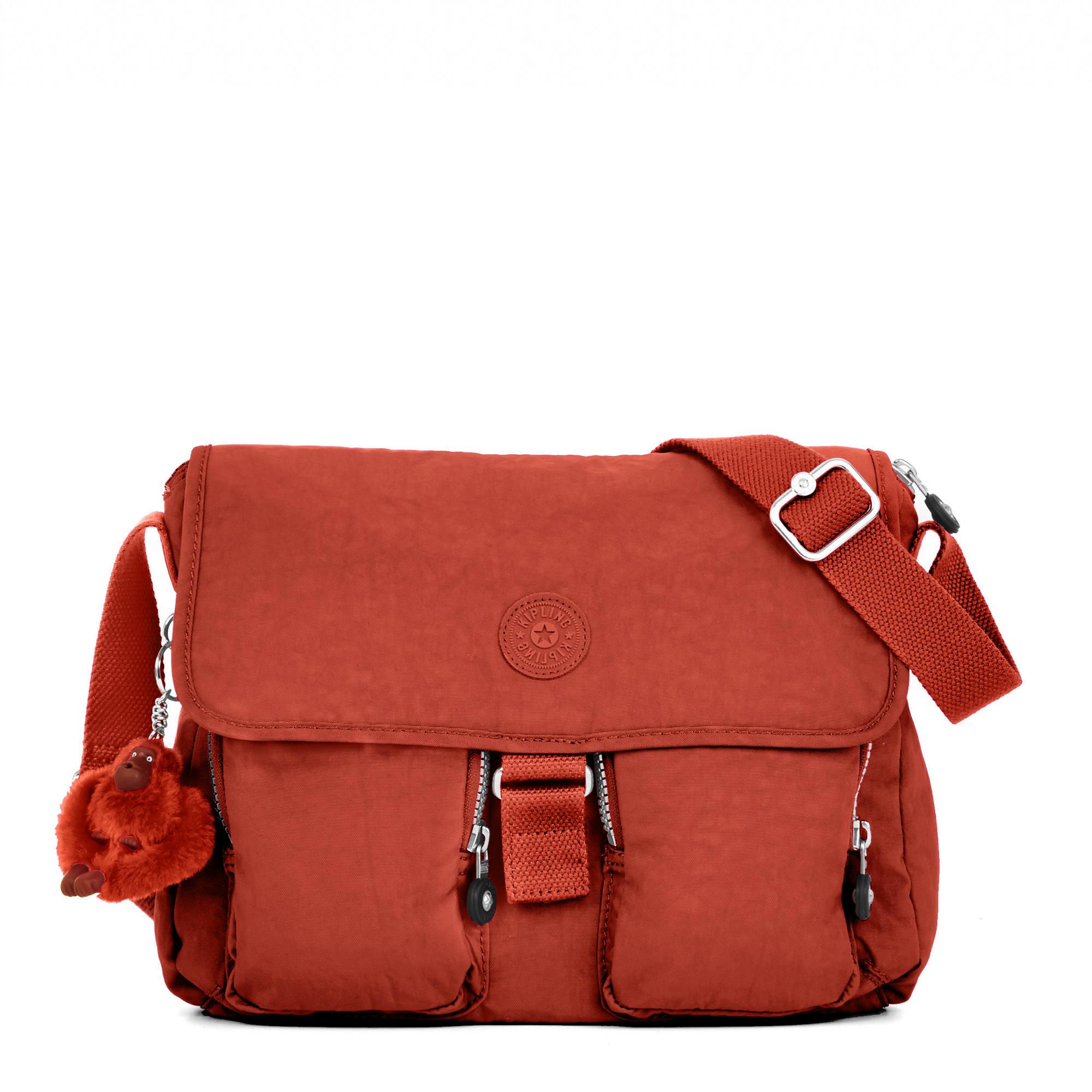 b74043f583e New Rita Medium Crossbody Bag,Red Rust,large