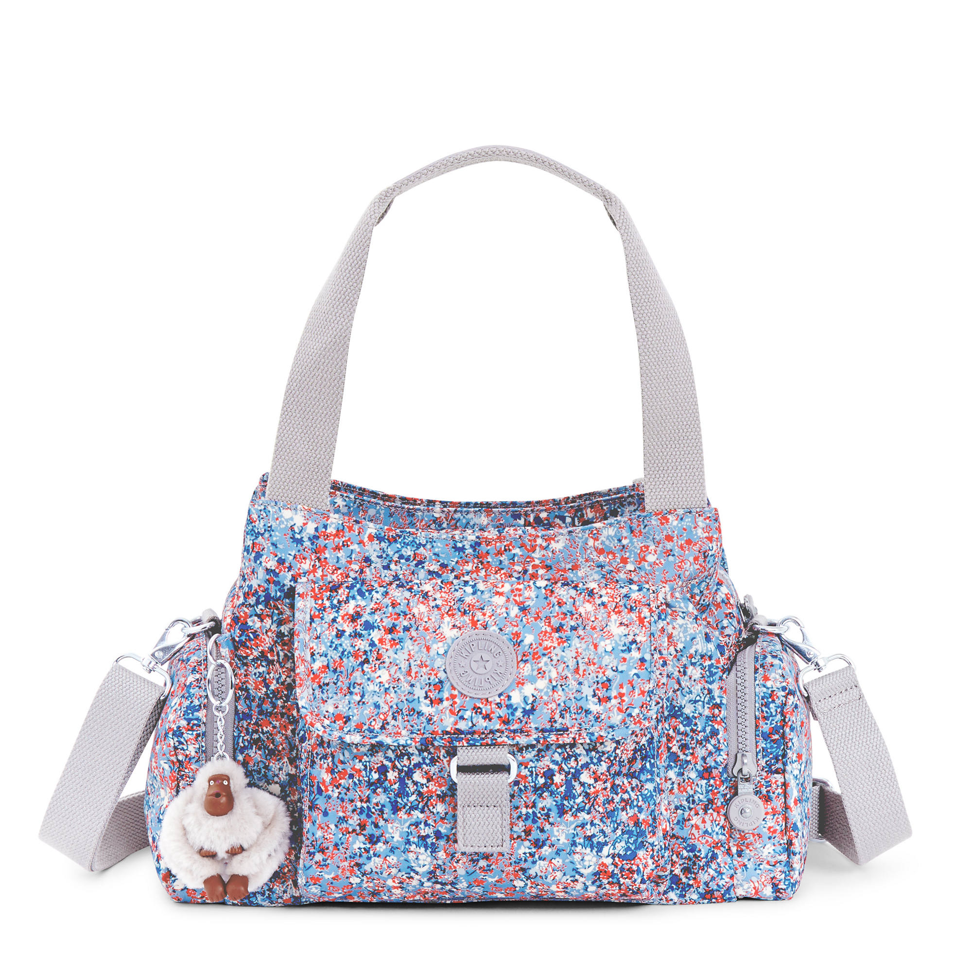 Felix Printed Handbag Fainted Fls Large