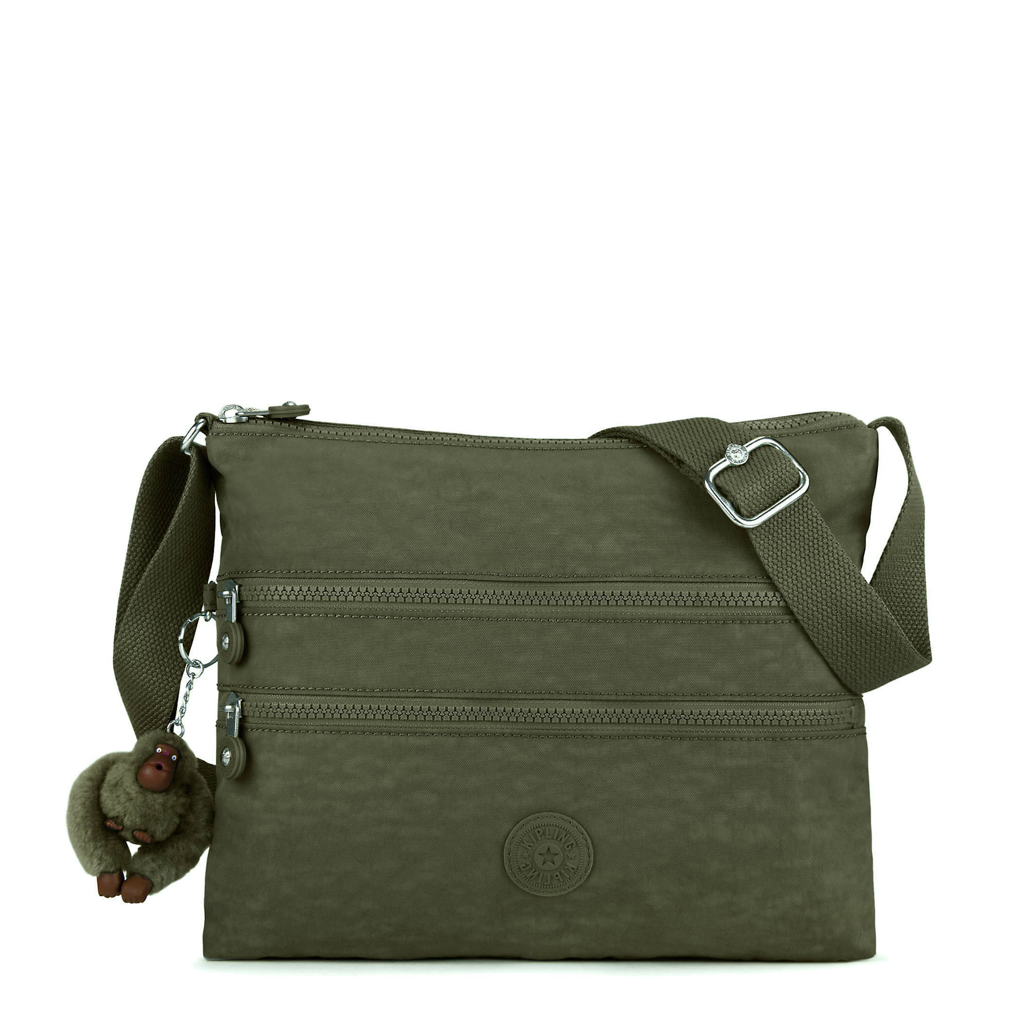 ade97d07eb7 Alvar Crossbody Bag,Jaded Green Tonal Zipper,large