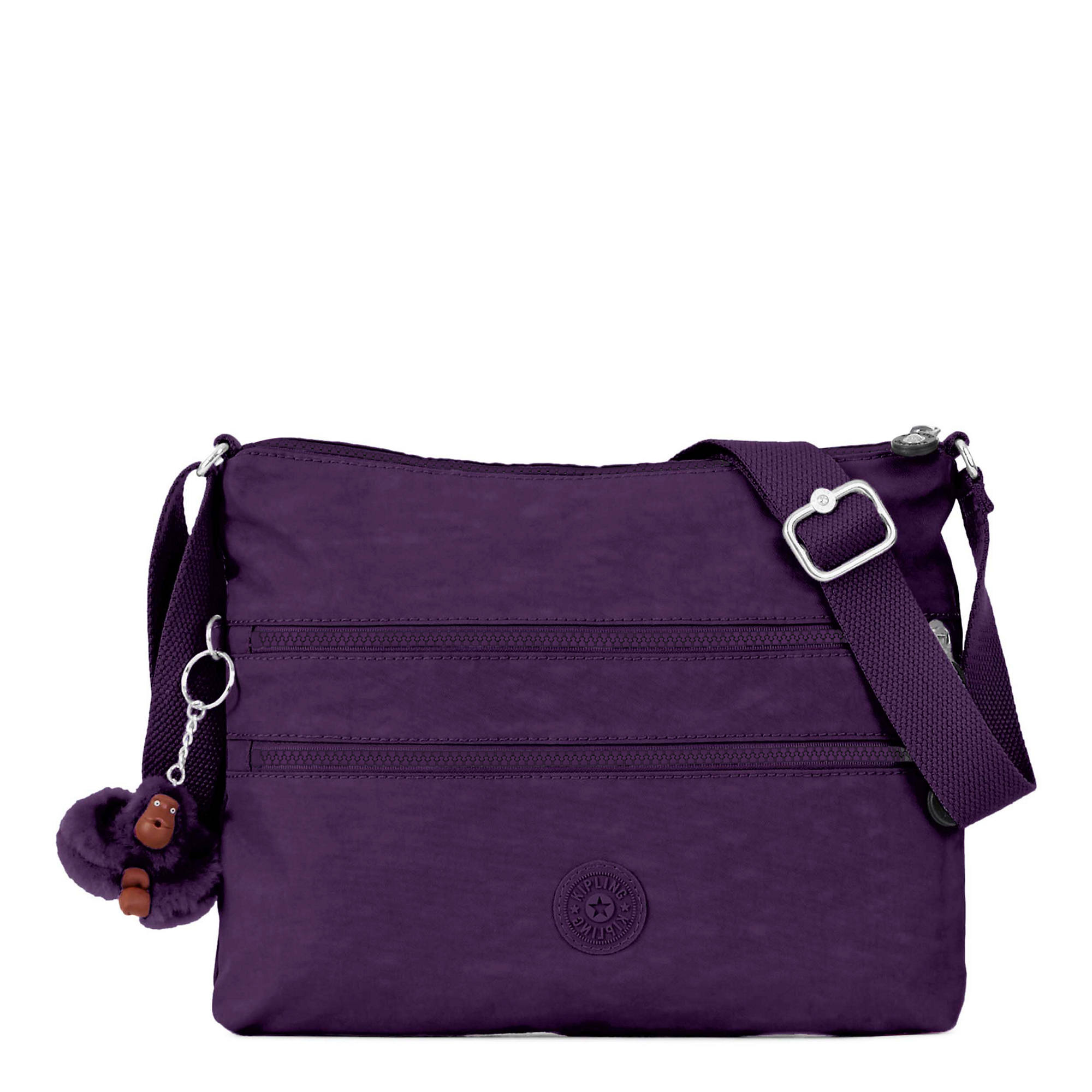 Alvar Crossbody Bag Deep Purple Large