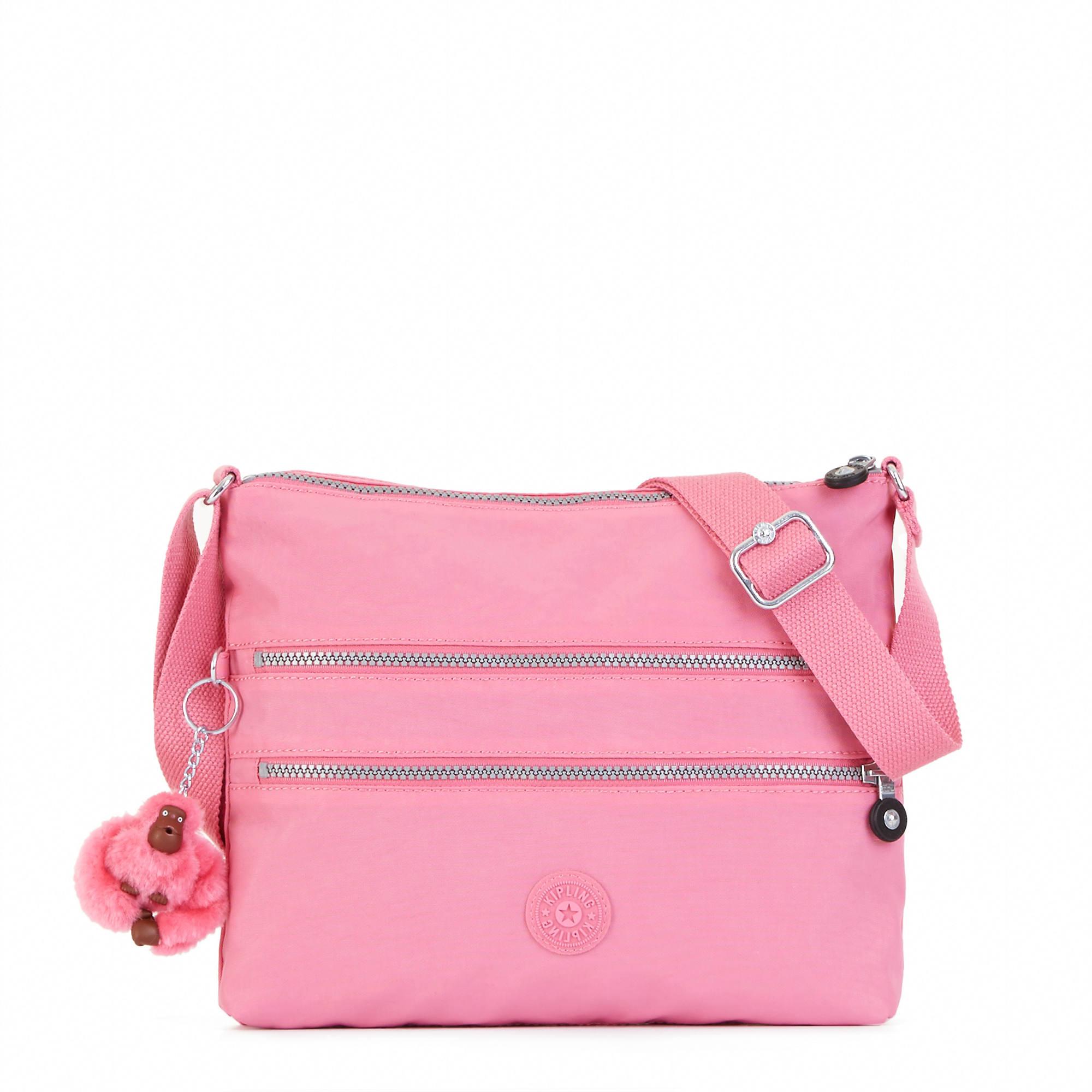 Kipling Hb4061 Alvar Crossbody Bag Pinkmacaron