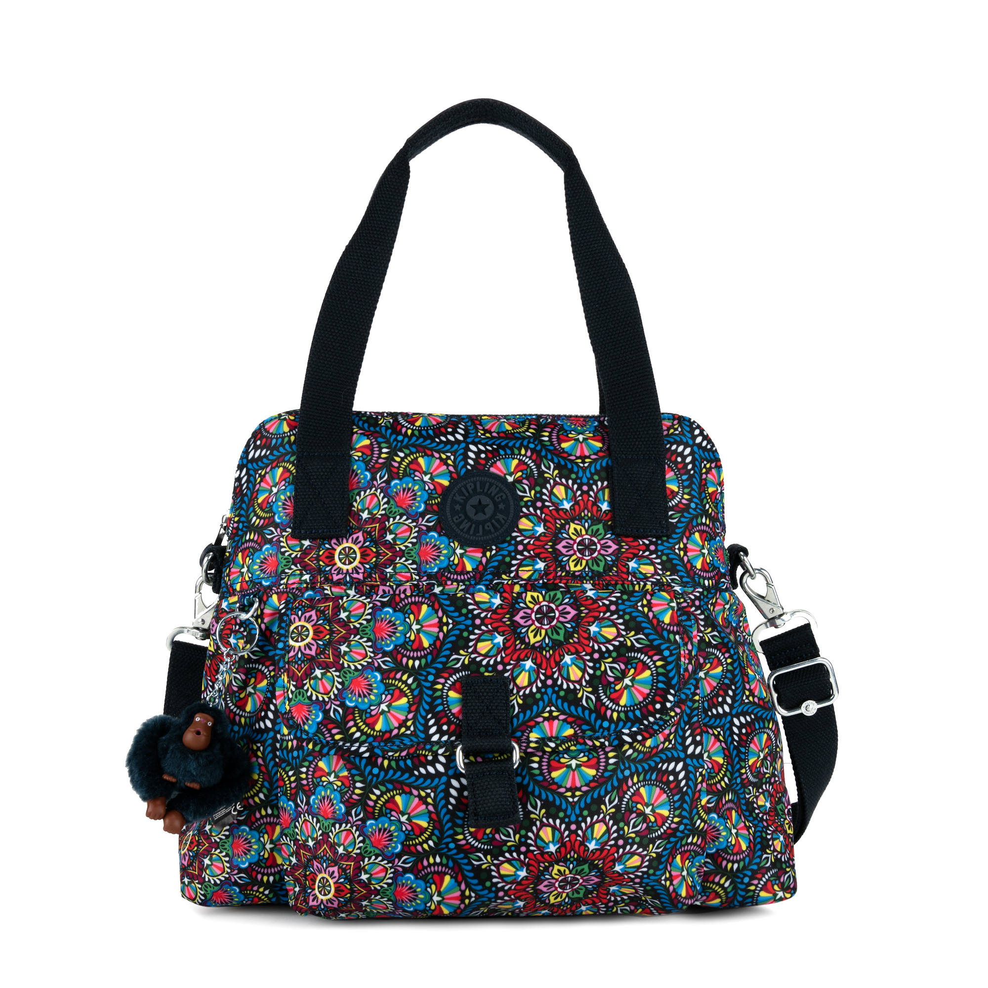 92f63f06f8 Pahneiro Printed Handbag,Sunshine burst,large
