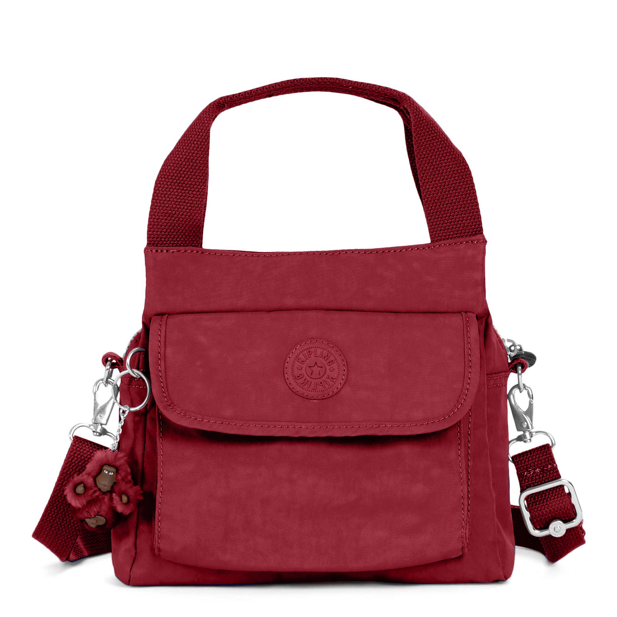 Felix Small Handbag Brick Red Large