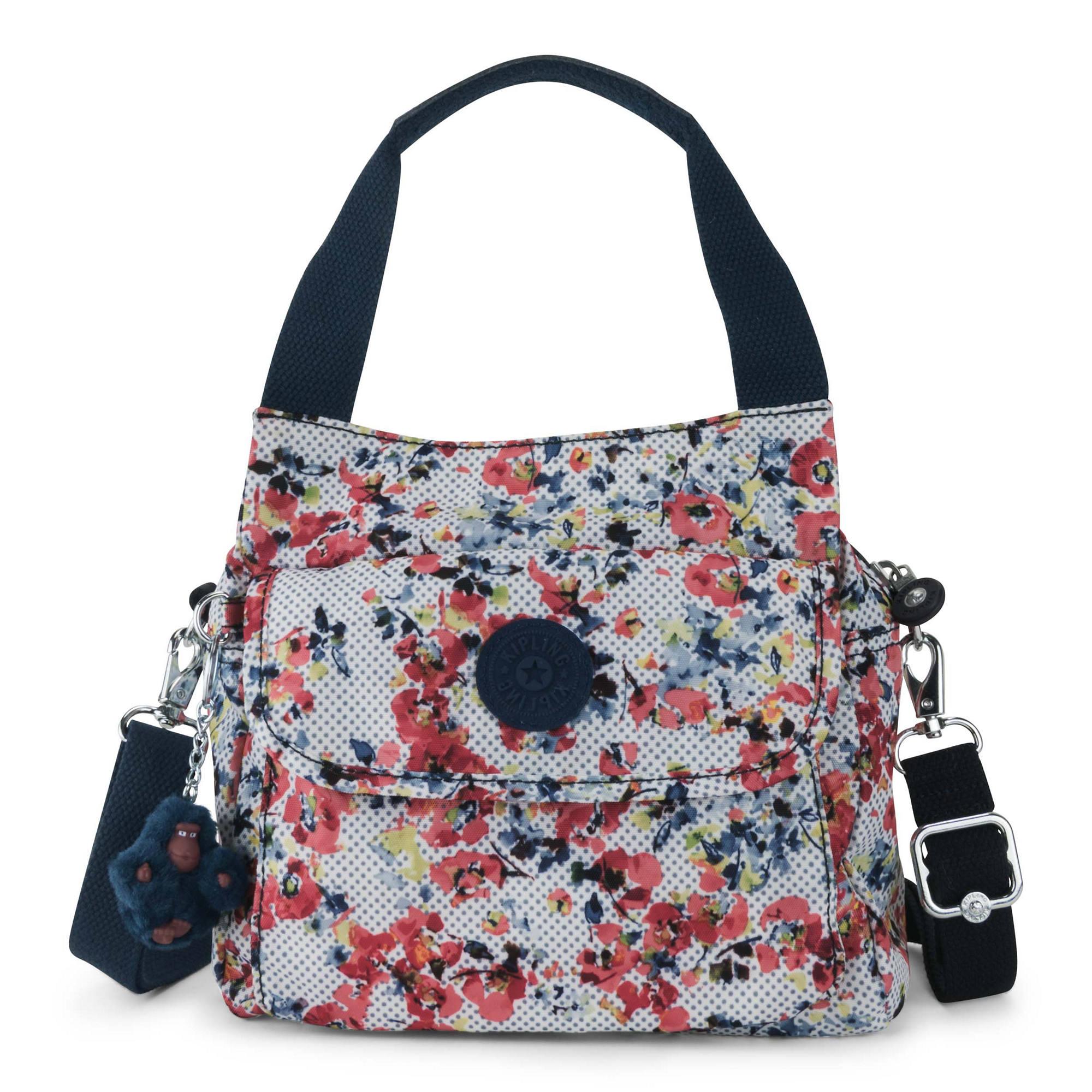 Felix Small Printed Handbag Busy Blossoms Large