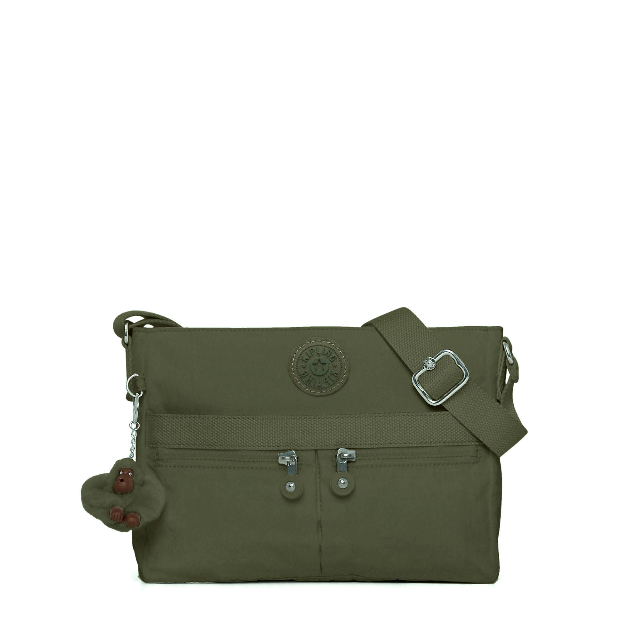 70fadaf89 Angie Handbag,Jaded Green Tonal Zipper,large
