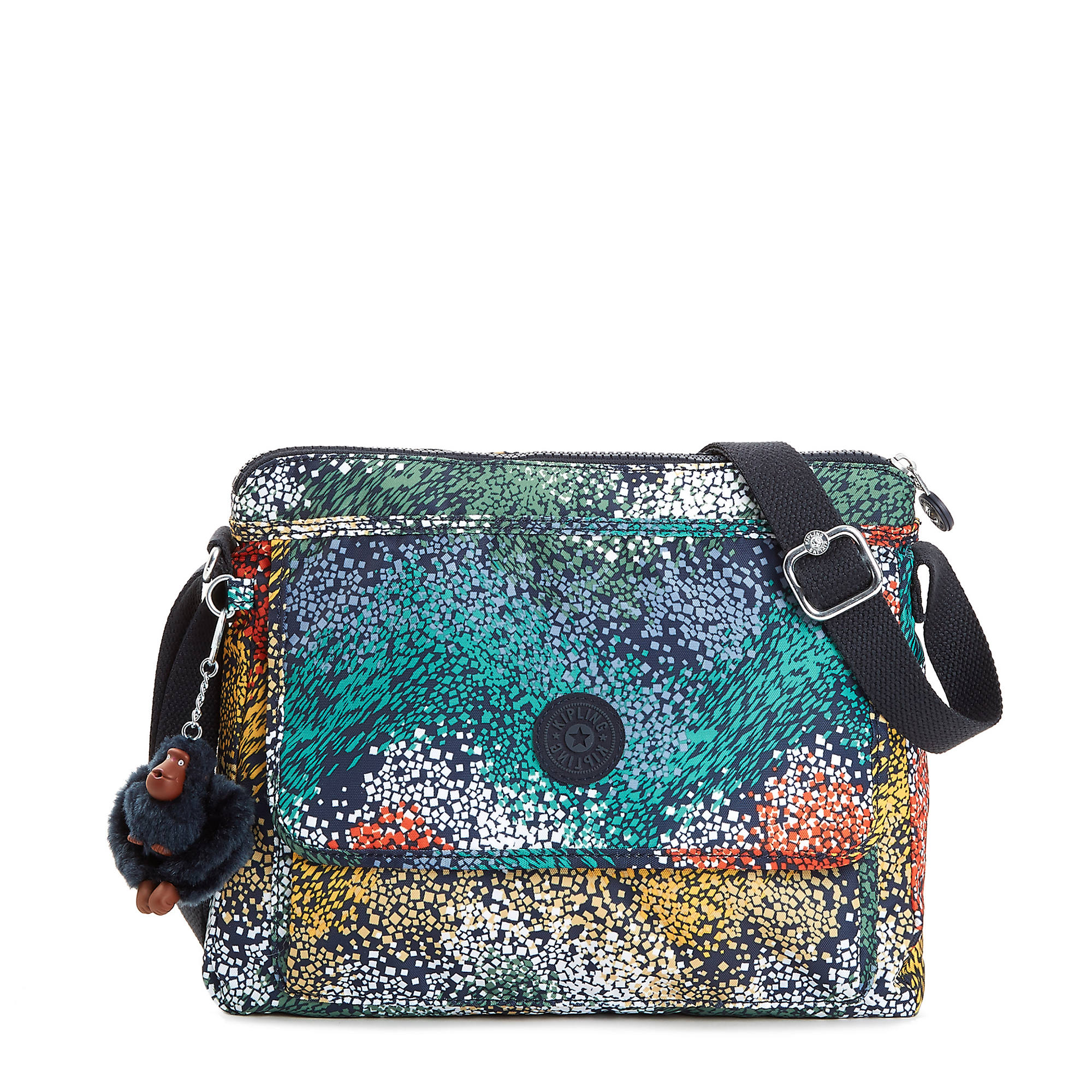 906e6ce22 Aisling Printed Crossbody Bag,Watercolor River,large