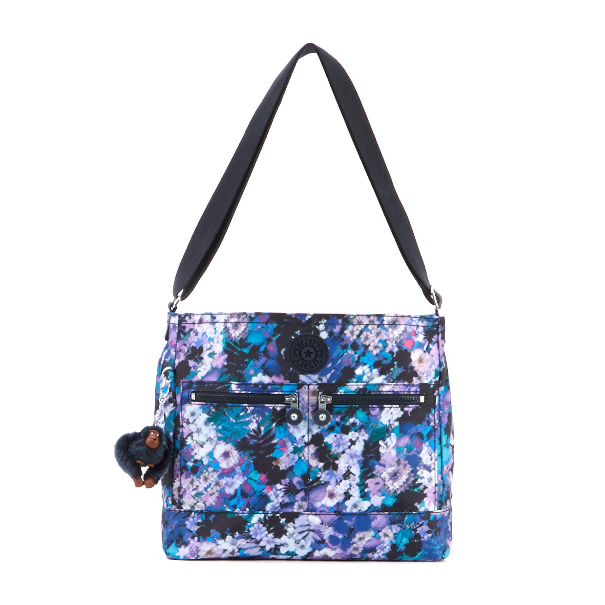 Michelle Printed Handbag Fall Flowers Large