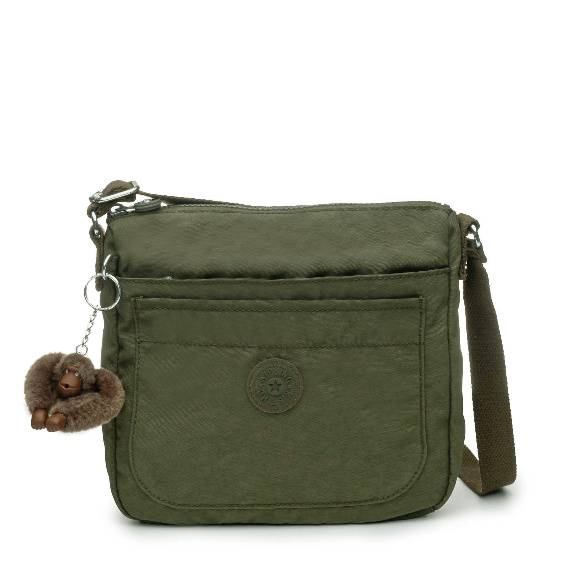 24110b4c18 Sebastian Crossbody Bag,Jaded Green Tonal Zipper,large