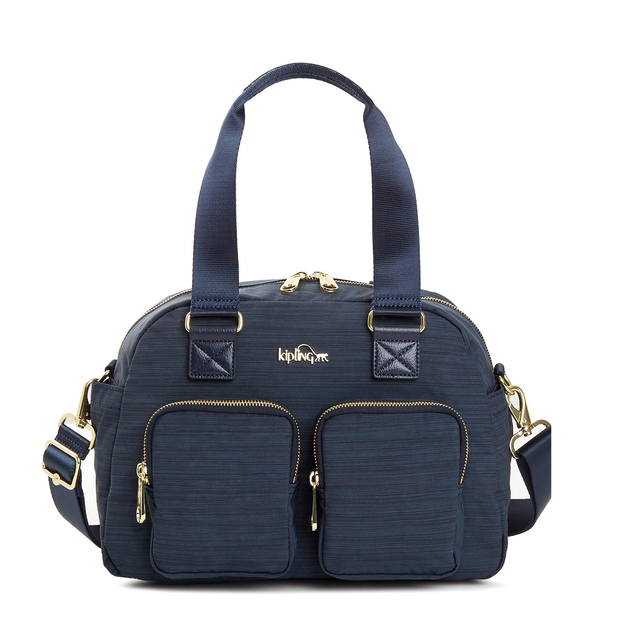Defea Handbag Kipling Travel Bag In 6 1 Organizer Korean An Handbagtrue Dazz Navylarge