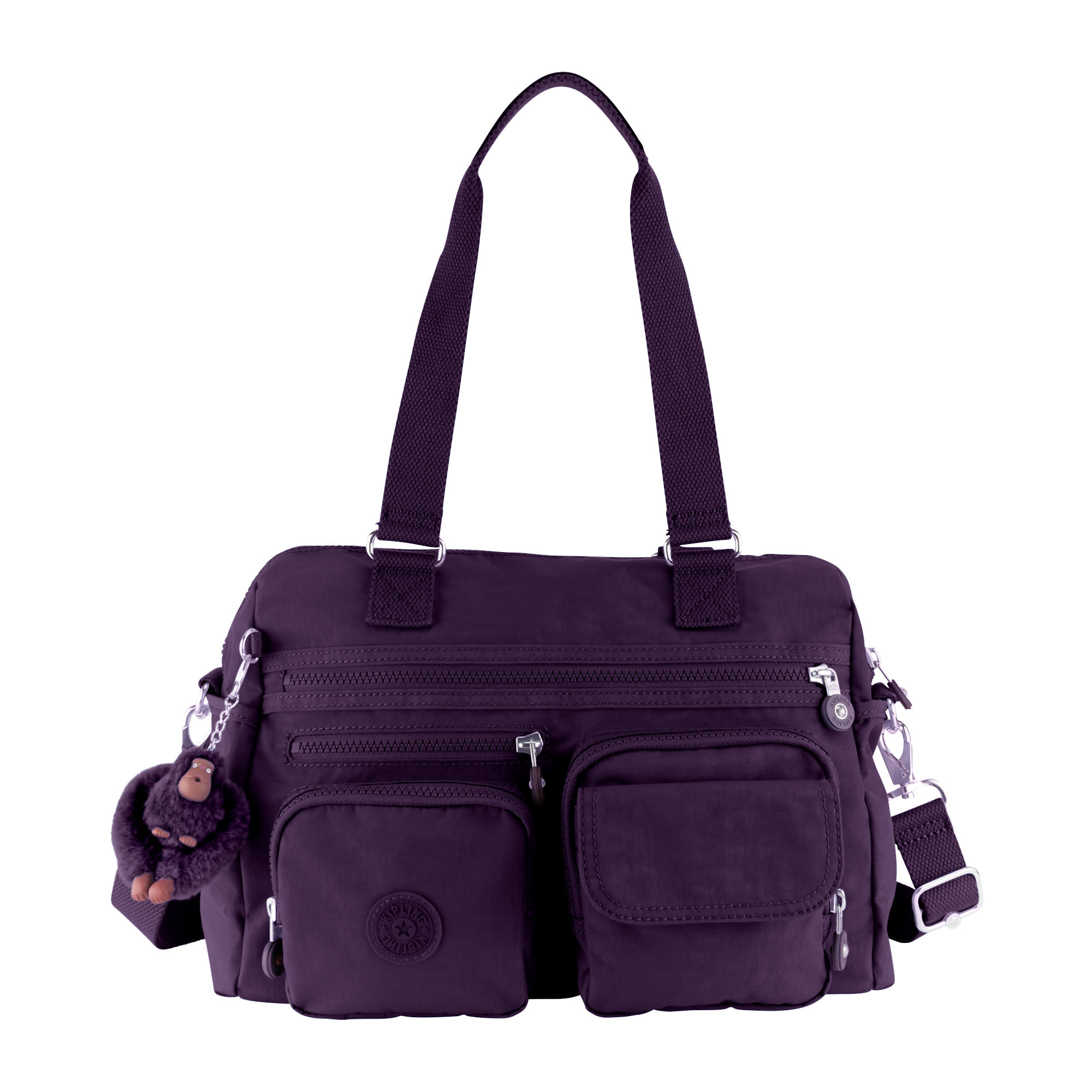 Mara Handbag Deep Purple Large