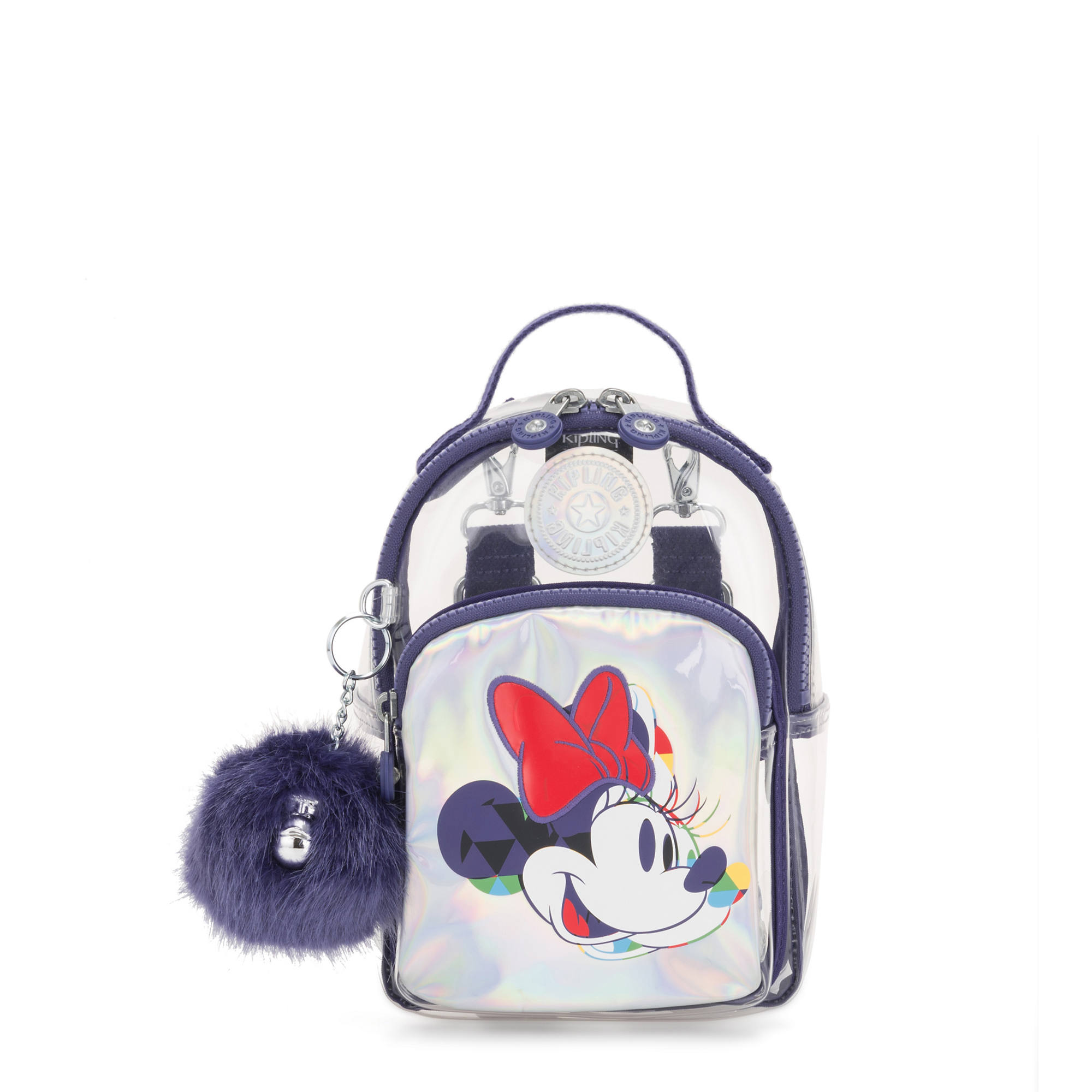 39b0f9bf88eb Disney's Minnie Mouse and Mickey Mouse 3-In-1 Alber Convertible Mini Bag  Backpack