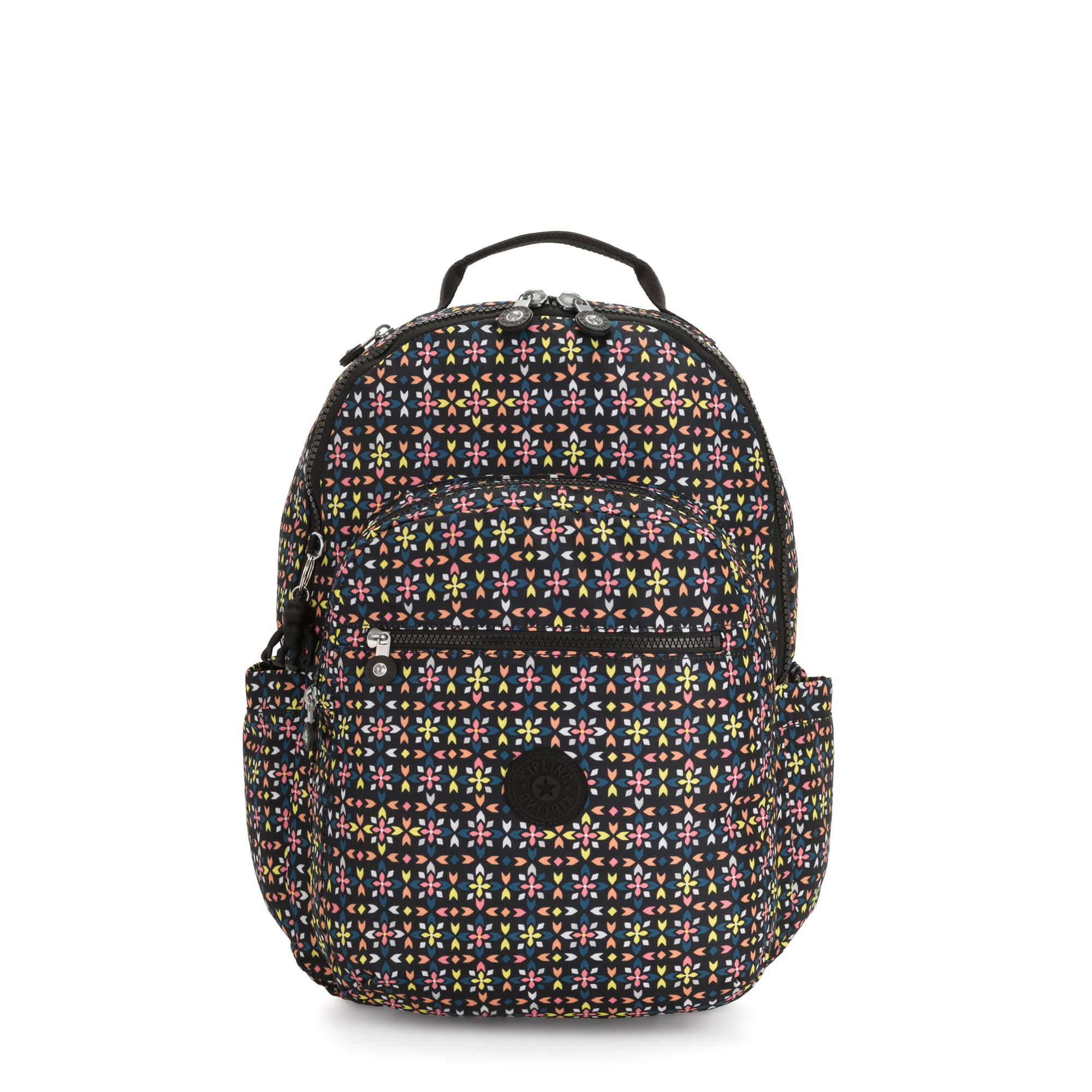 seoul large printed 15 laptop backpack