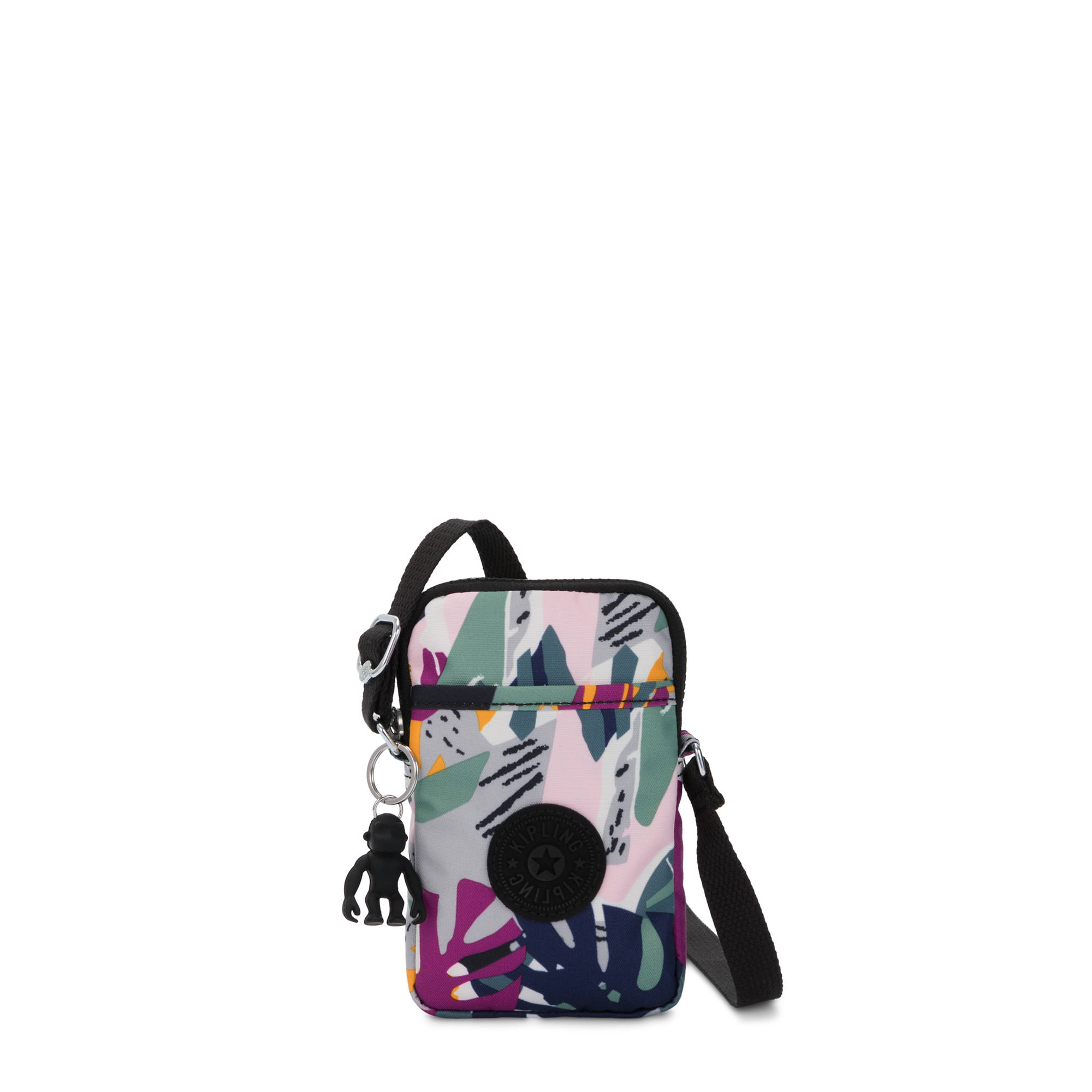 Tally Printed Crossbody Phone Bag,Active Jungle,large-zoomed