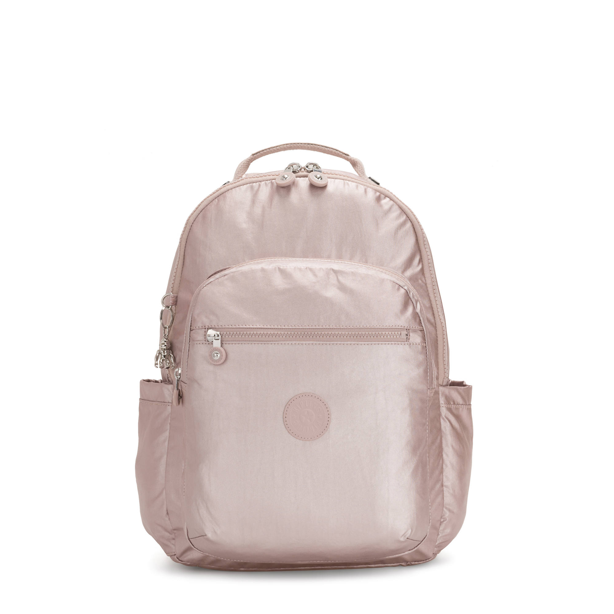 Seoul Baby Diaper Backpack,Metallic Rose,large-zoomed