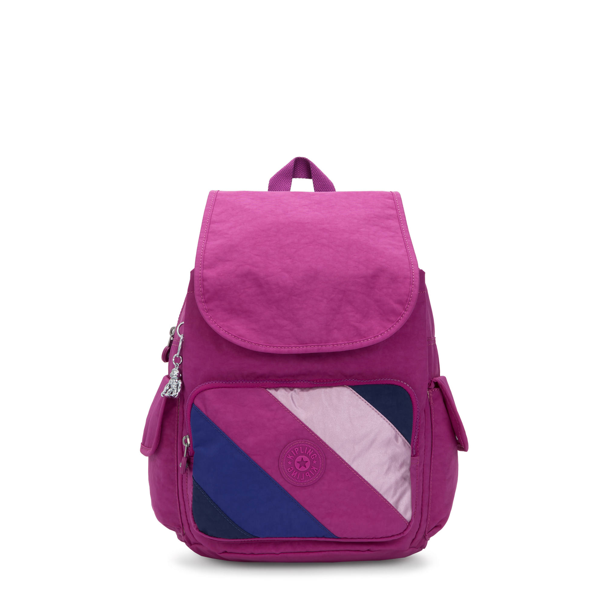 City Pack Medium Backpack,Pink Mix Block,large-zoomed