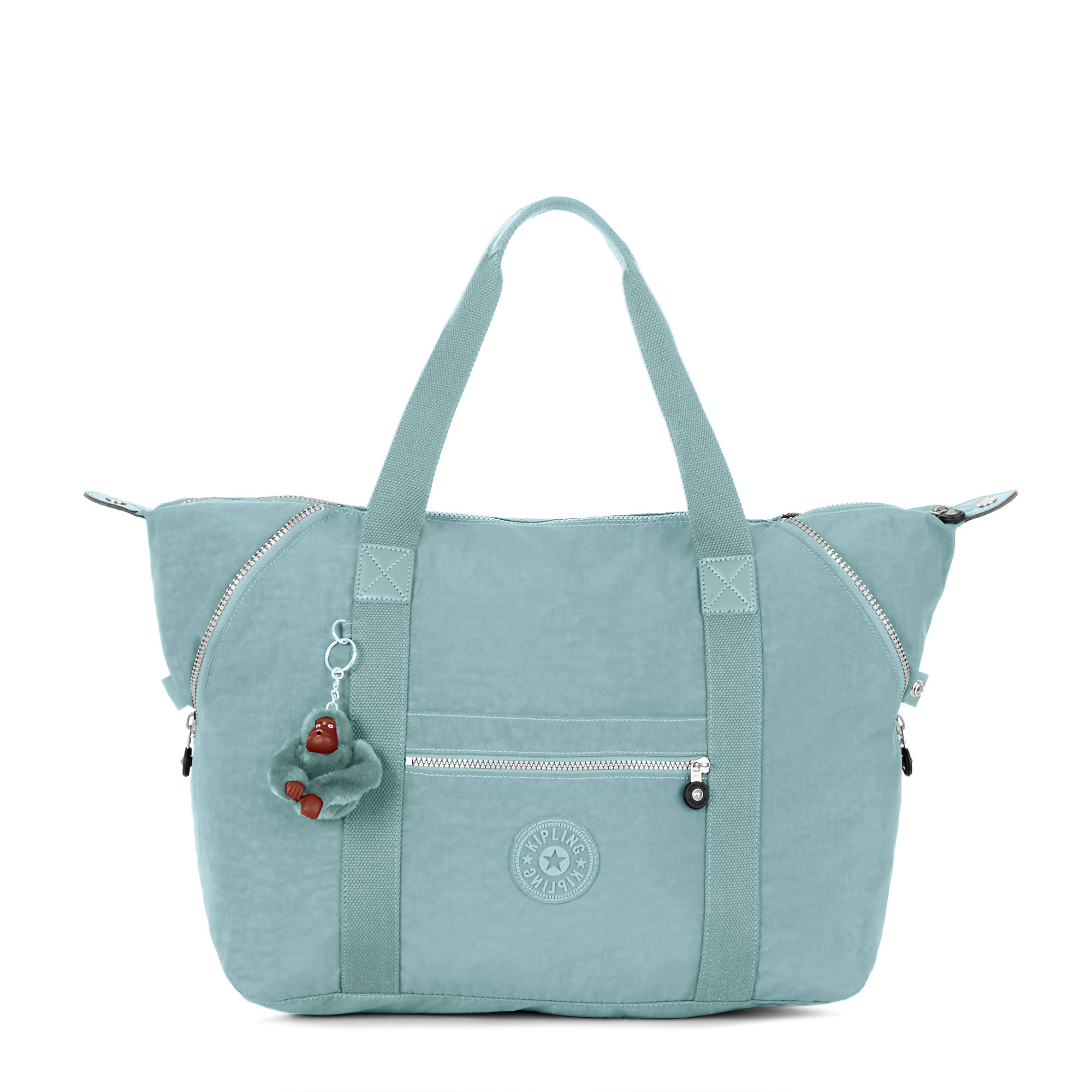 0795b12aaa Art Medium Tote Bag,Sea Green,large