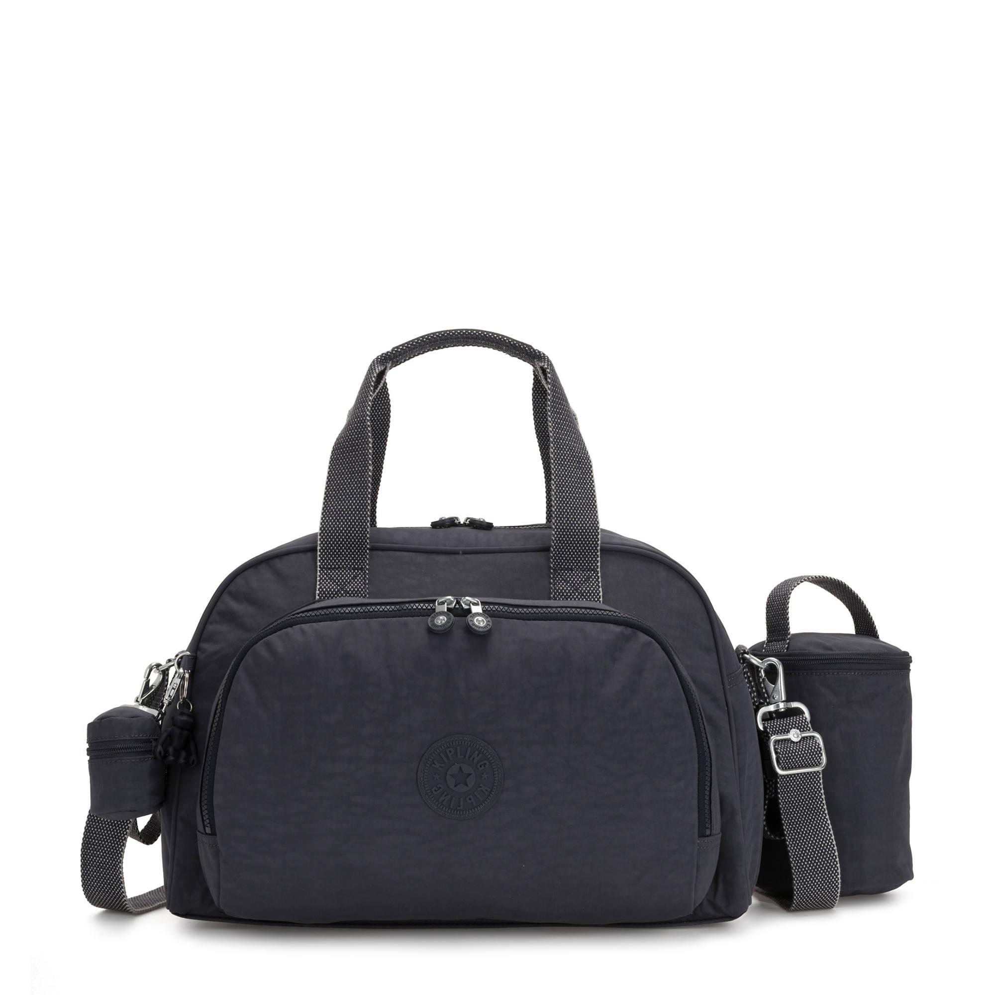 Baby Messenger Changing Bags Maternity Overnight Hospital Shoulder Bags Black