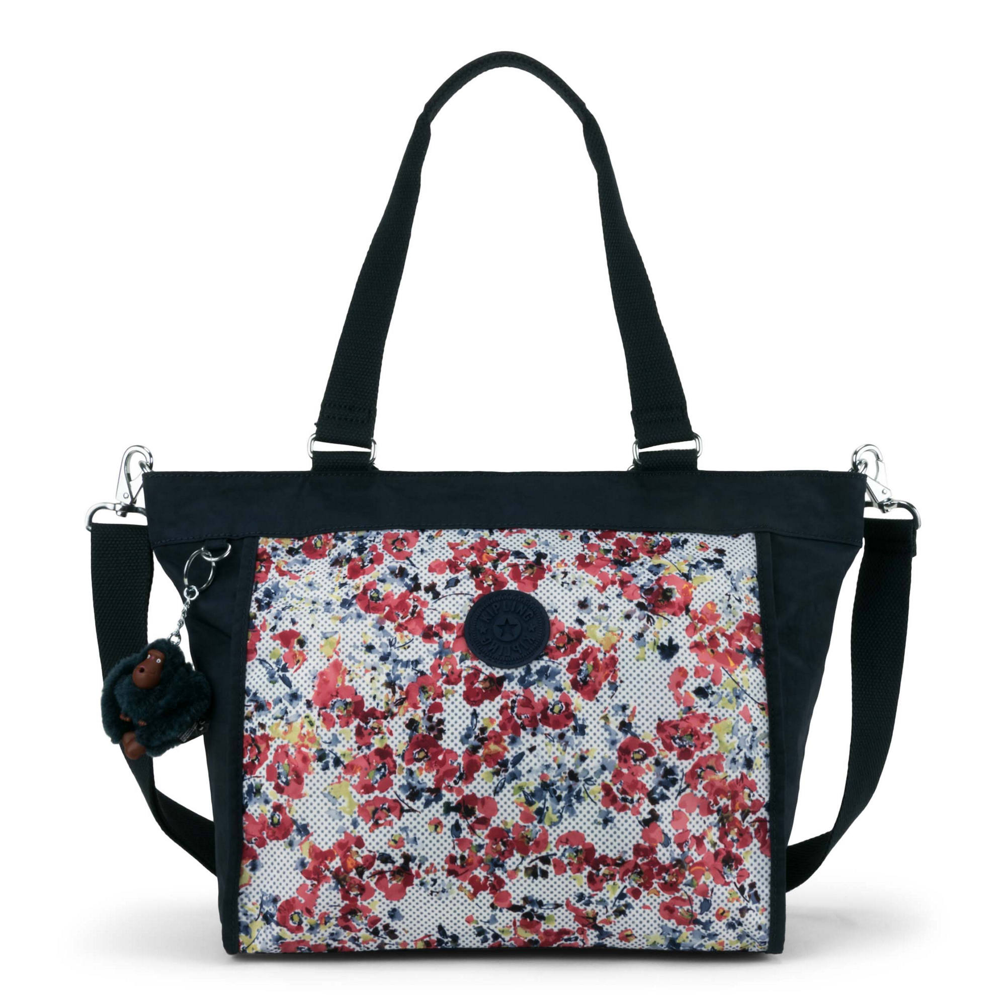 1bd0b096c3d New Shopper Small Printed Handbag,Busy Blossoms Blue Combo,large