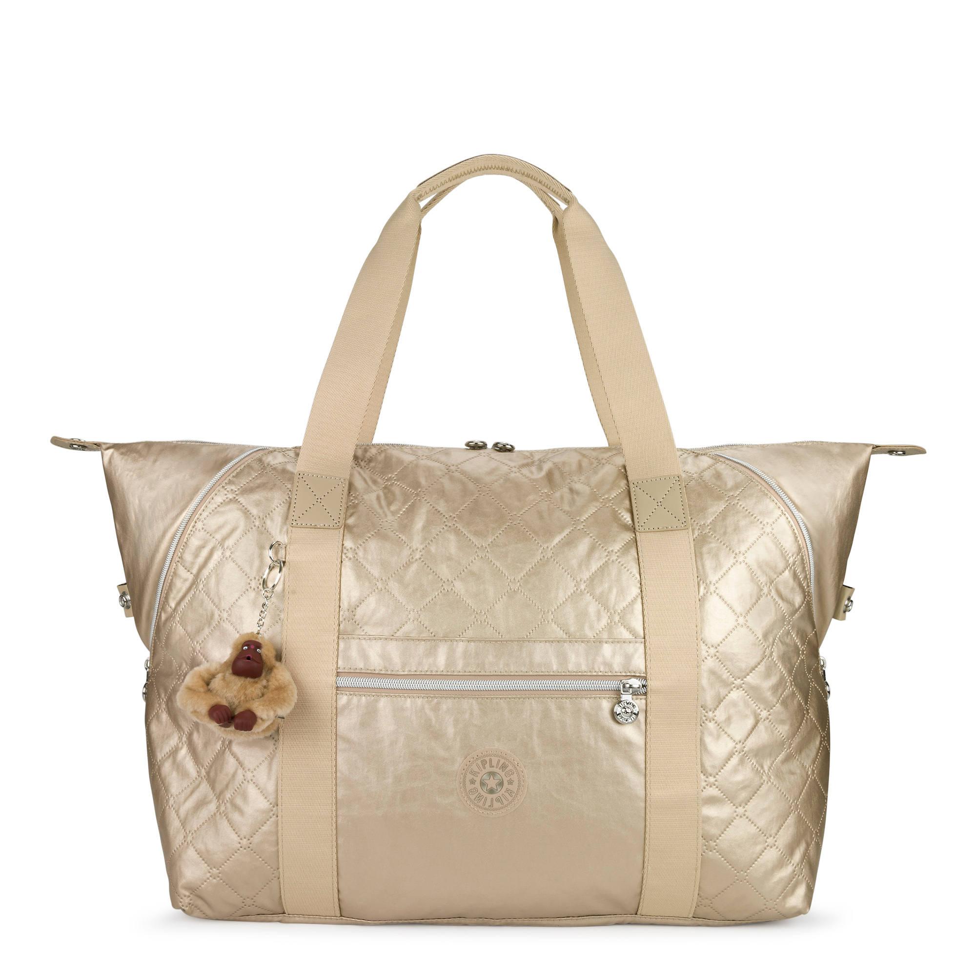 06804bc5ed64 Art Medium Metallic Quilted Tote Bag