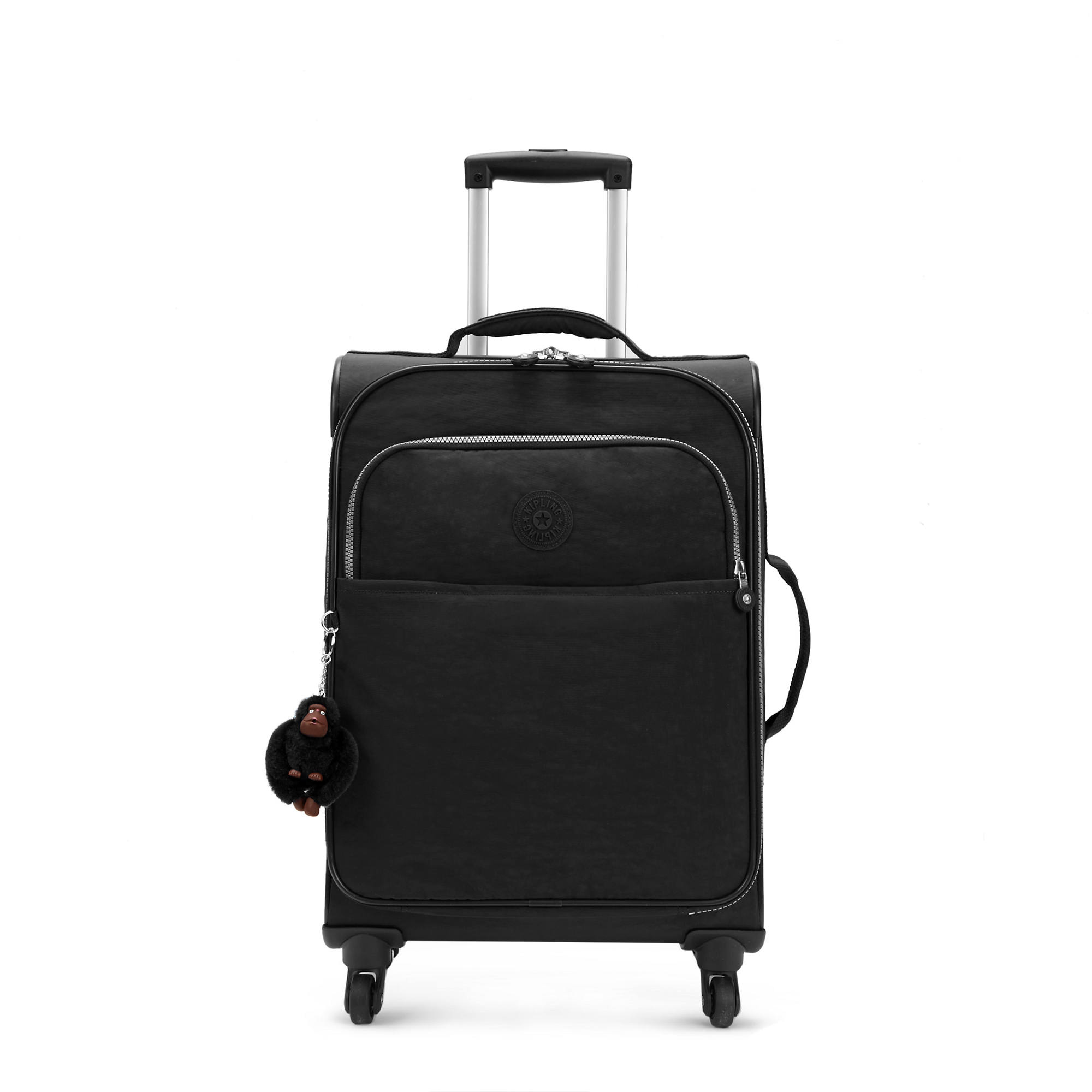 3a0cf0f6d3 Parker Small Carry-On Rolling Luggage,Black Classic,large