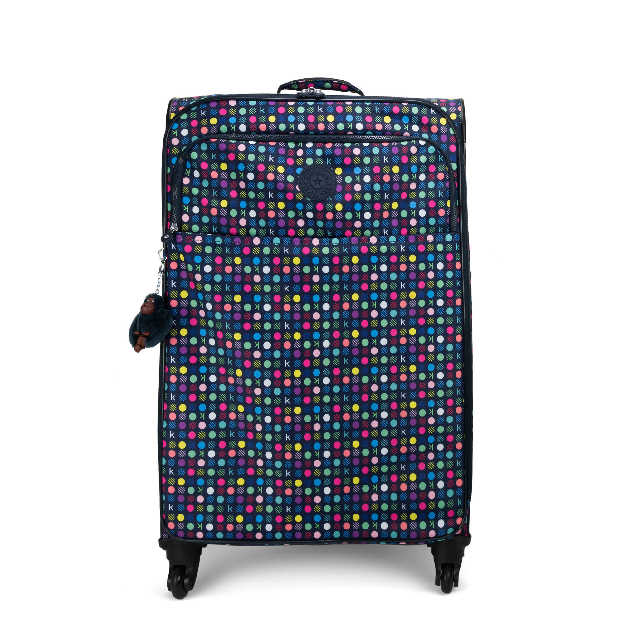 9e04a8b691 Parker Large Printed Rolling Luggage,K Multi Dot,large