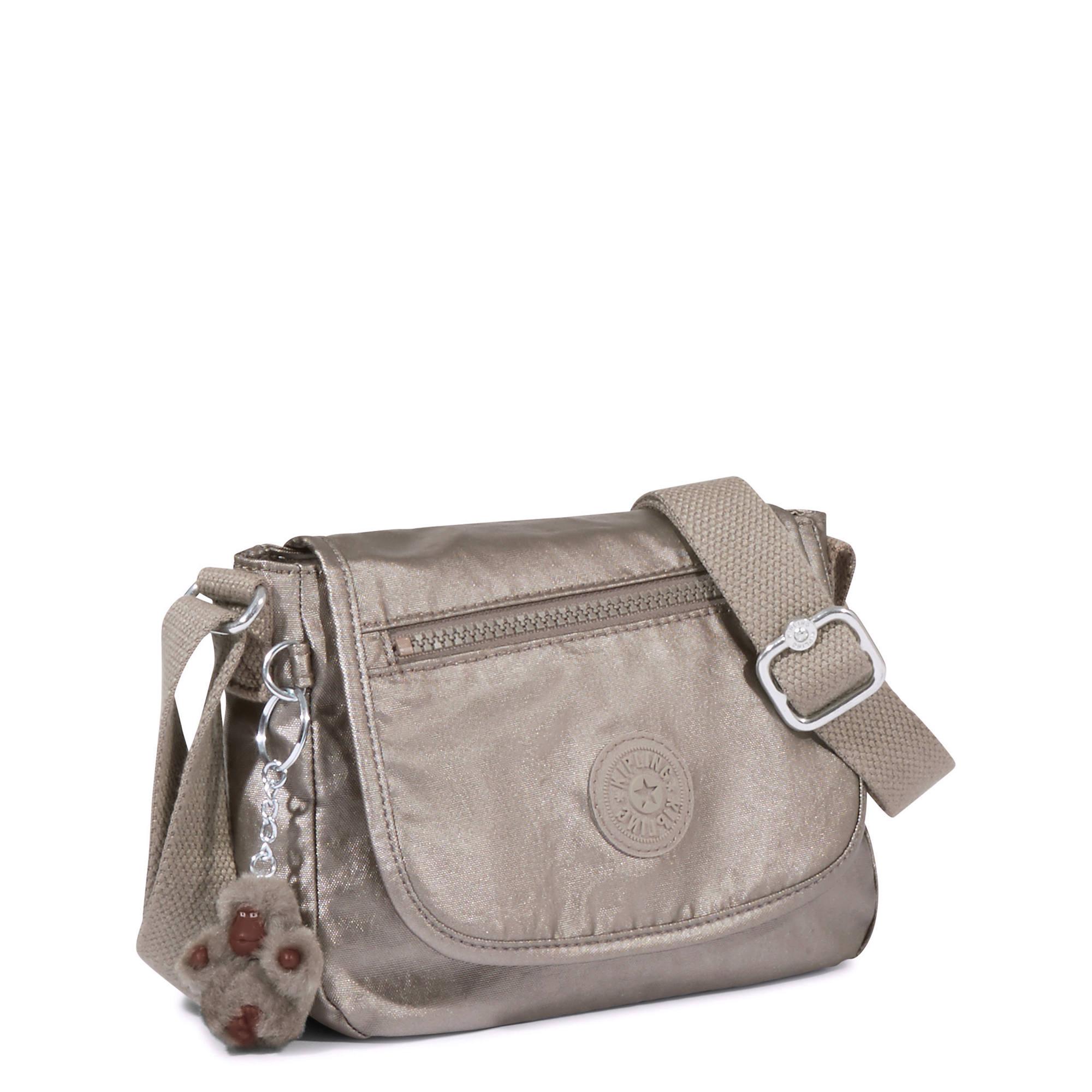 96799512ae7b Kipling Sabian U Crossbody Mini Bag Metallic Pewter for sale online ...