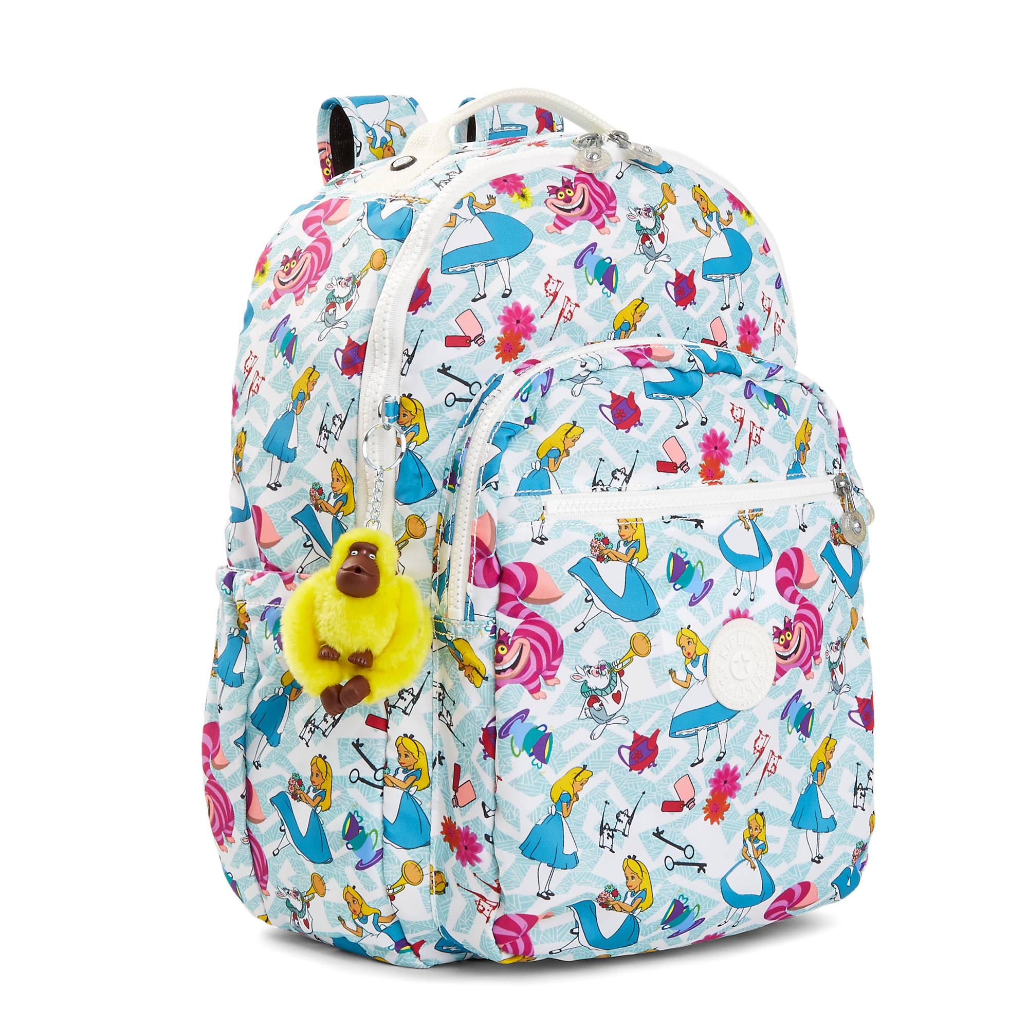 Disney S Alice In Wonderland Seoul Printed 15 Laptop Backpack Kipling