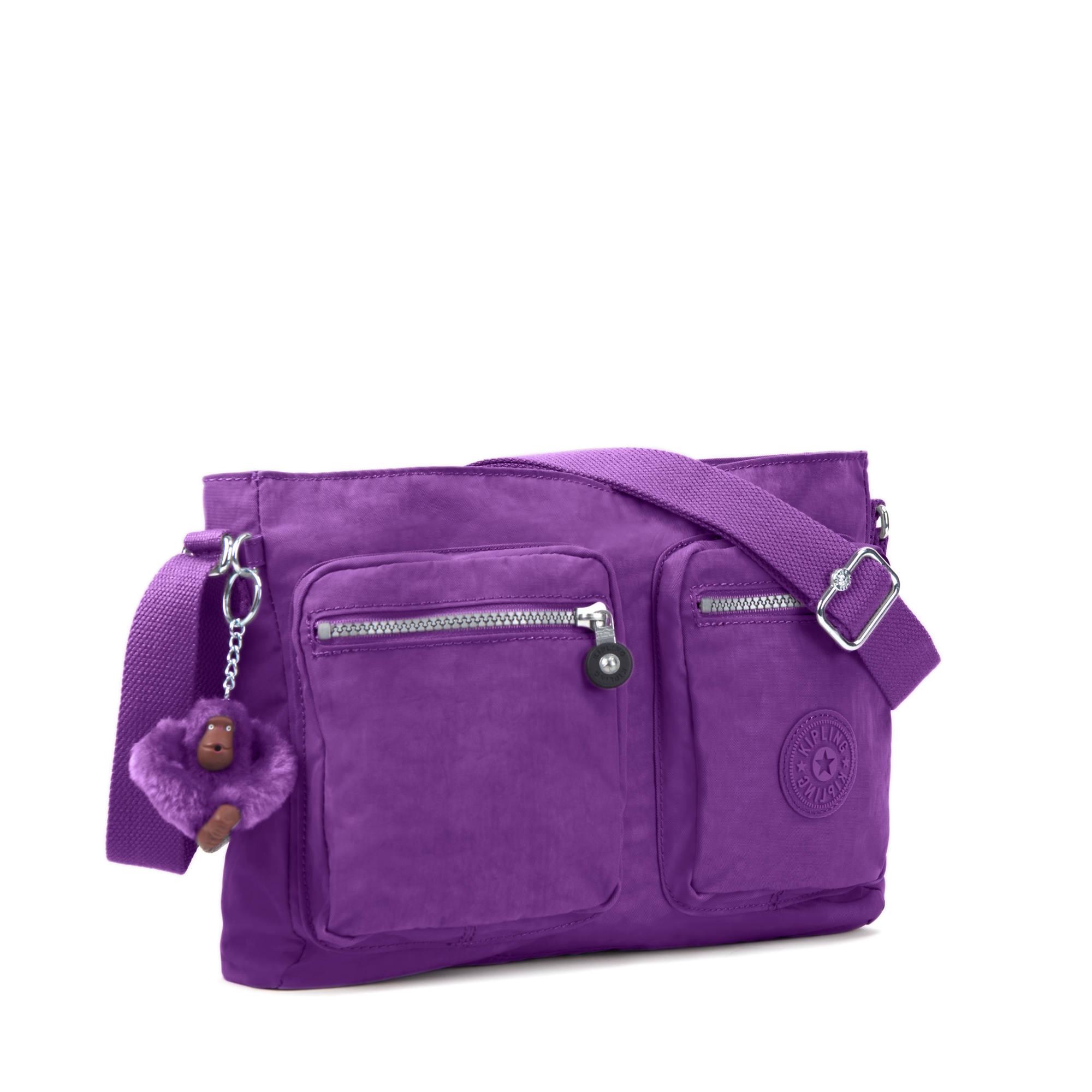 Many Pocket Big Crossbody Bags For Women 2018,PURPLE,Russian Federation