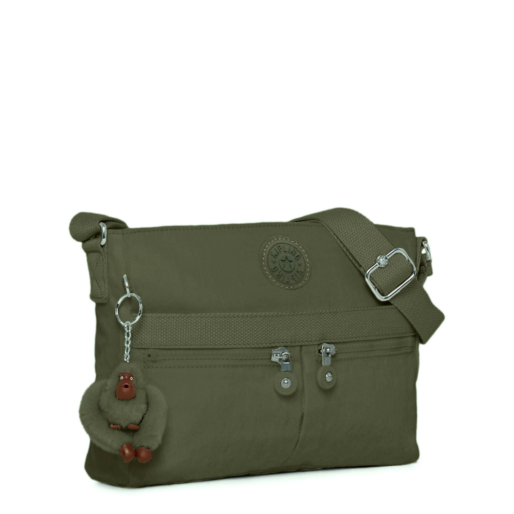 477e99da9 Angie Handbag,Jaded Green Tonal Zipper,large