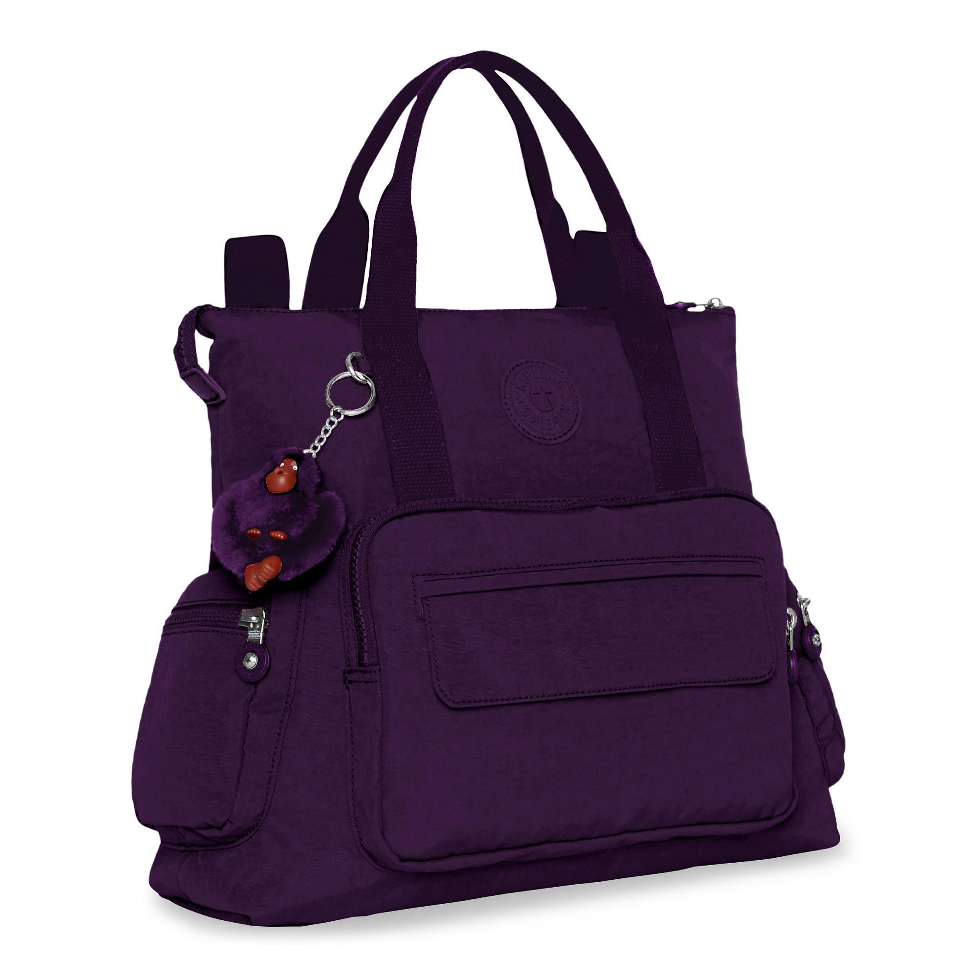 Kipling-Alvy-2-In-1-Convertible-Tote-Bag-Backpack miniatura 17