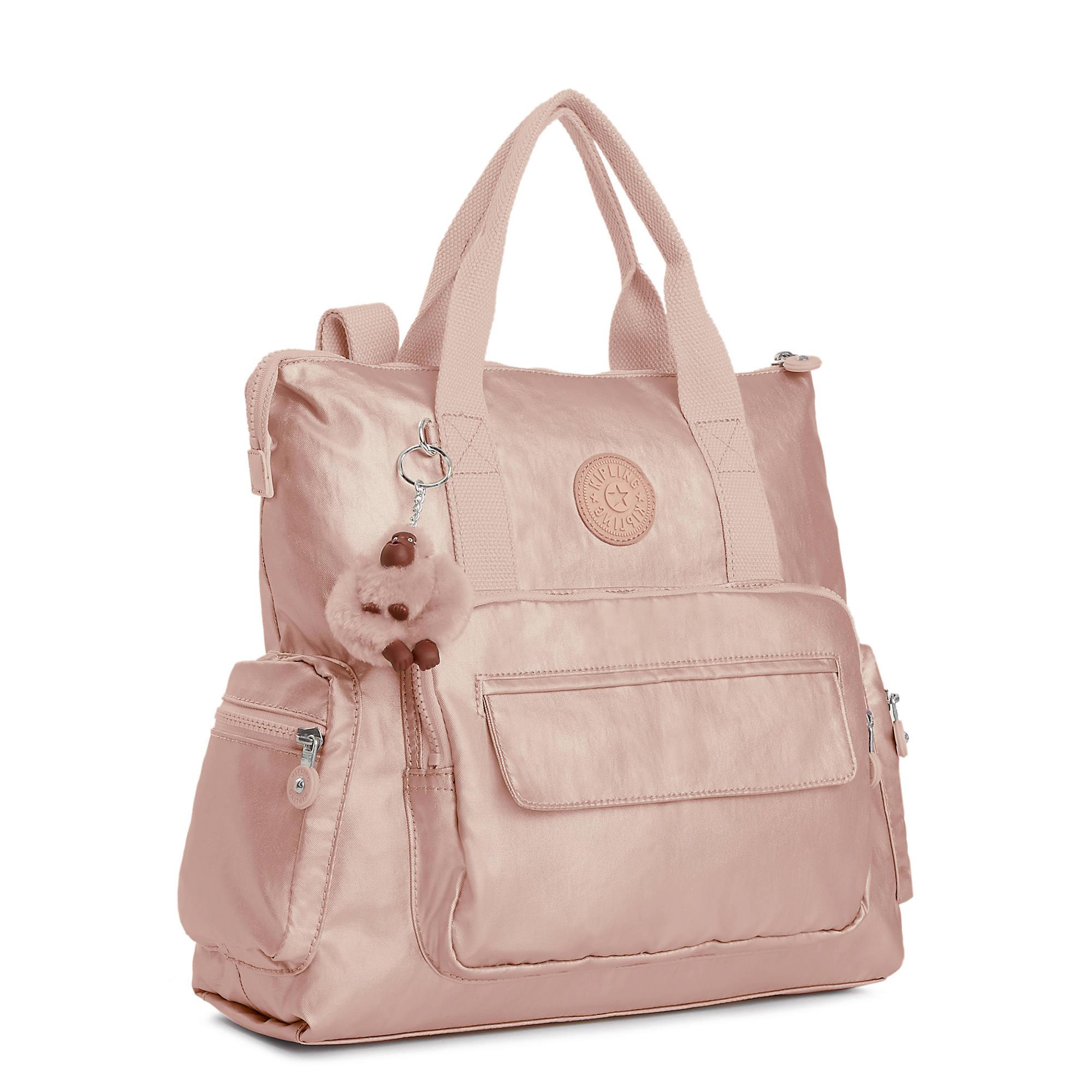 Kipling-Alvy-2-In-1-Convertible-Tote-Bag-Backpack miniatura 35